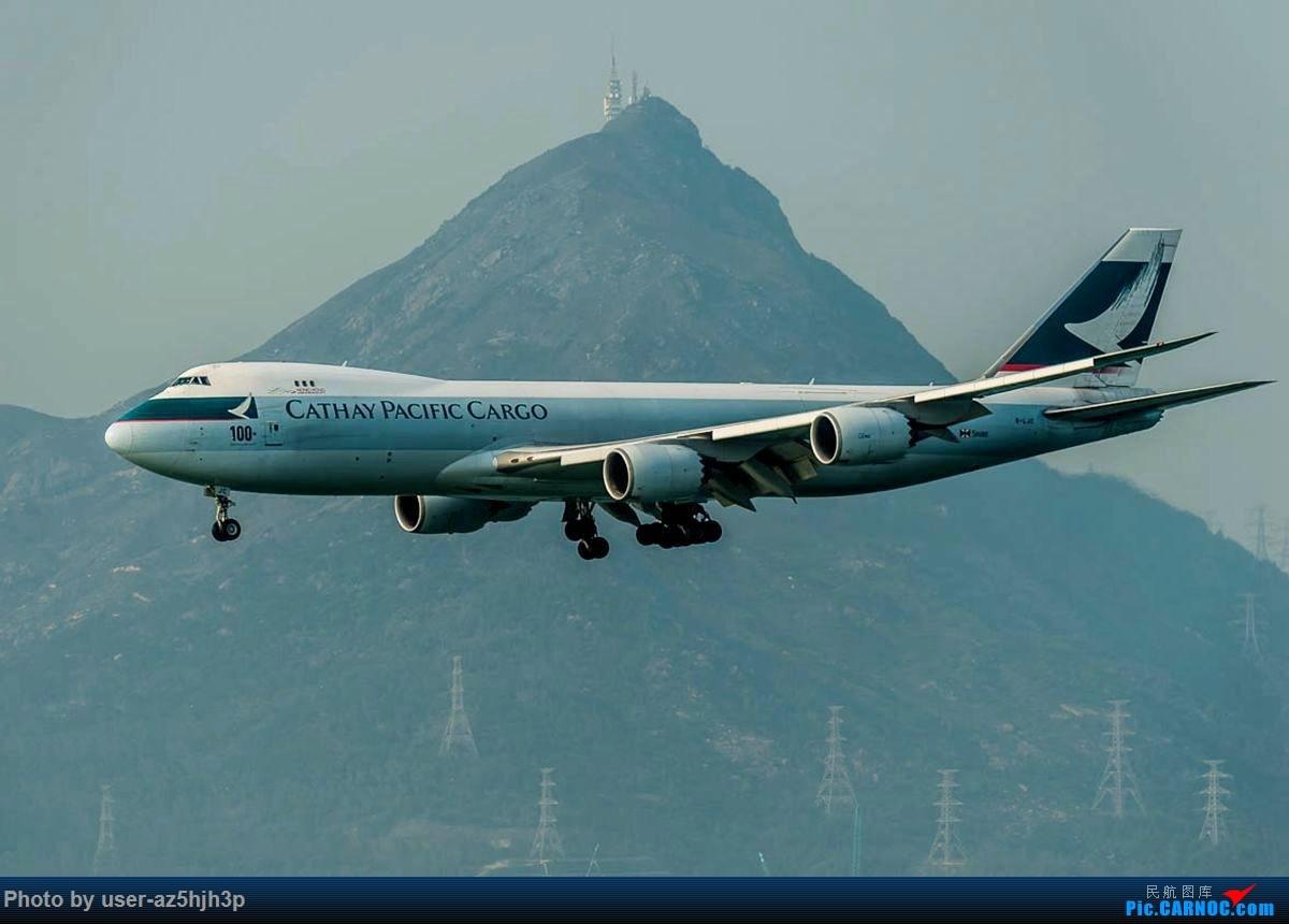 Re:[原创]2号客运大厅观景台拍机 BOEING 747-8I B-LJC 香港国际机场