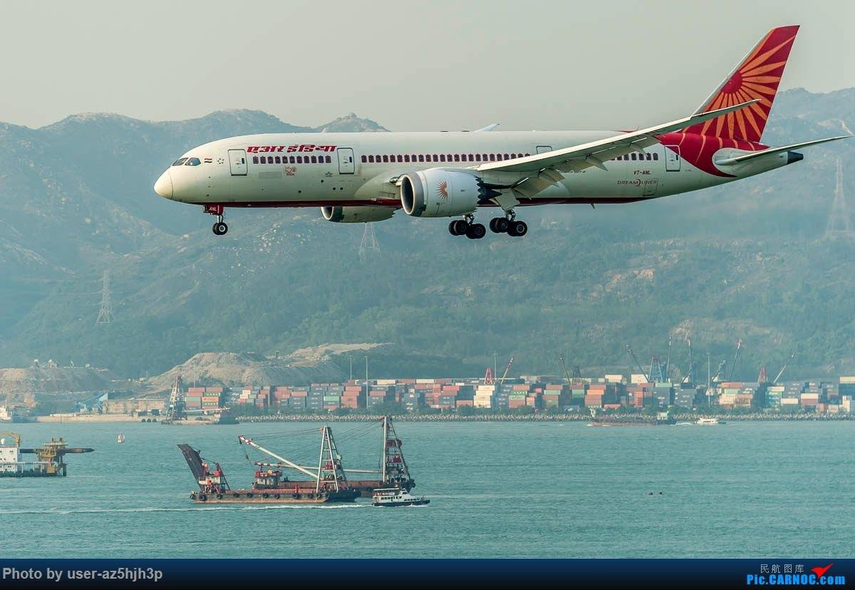 Re:[原创]2号客运大厅观景台拍机 BOEING 787-8 VT-ANL 香港国际机场