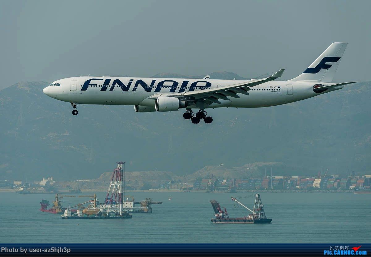 Re:[原创]2号客运大厅观景台拍机 AIRBUS A330-300 OH-LTP 香港国际机场
