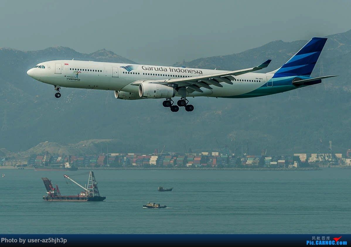 Re:[原创]2号客运大厅观景台拍机 AIRBUS A330-300 PK-GPV 香港国际机场