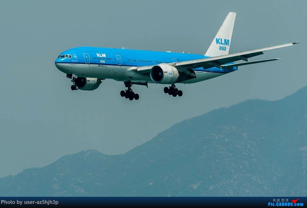 Re:[原创]2号客运大厅观景台拍机 BOEING 777-200 PH-BQF 香港国际机场