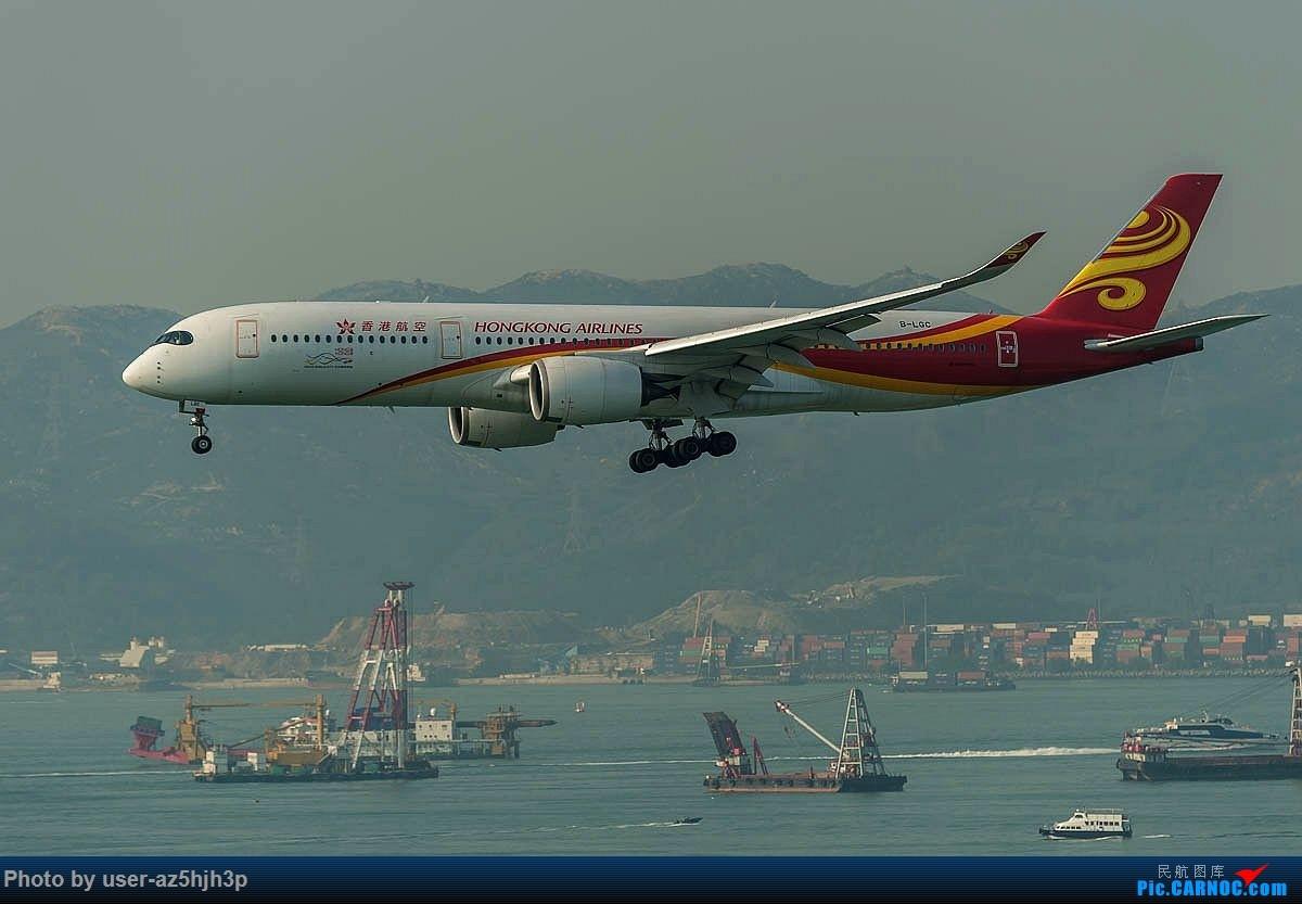 Re:[原创]2号客运大厅观景台拍机 AIRBUS A350-900 B-LGL 香港国际机场