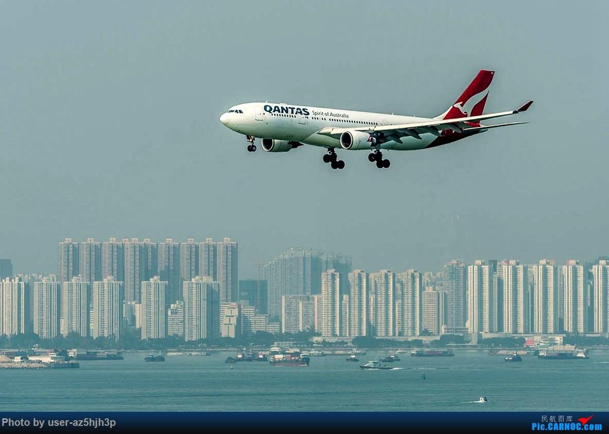 Re:[原创]2号客运大厅观景台拍机 AIRBUS A330-200 VH-EBQ 香港国际机场