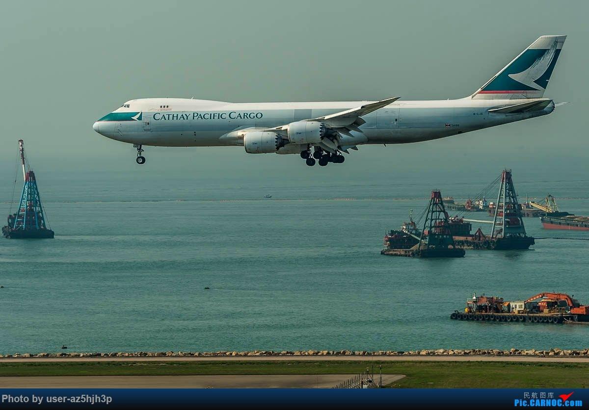 Re:[原创]2号客运大厅观景台拍机 BOEING 747-8I B-LJE 香港国际机场