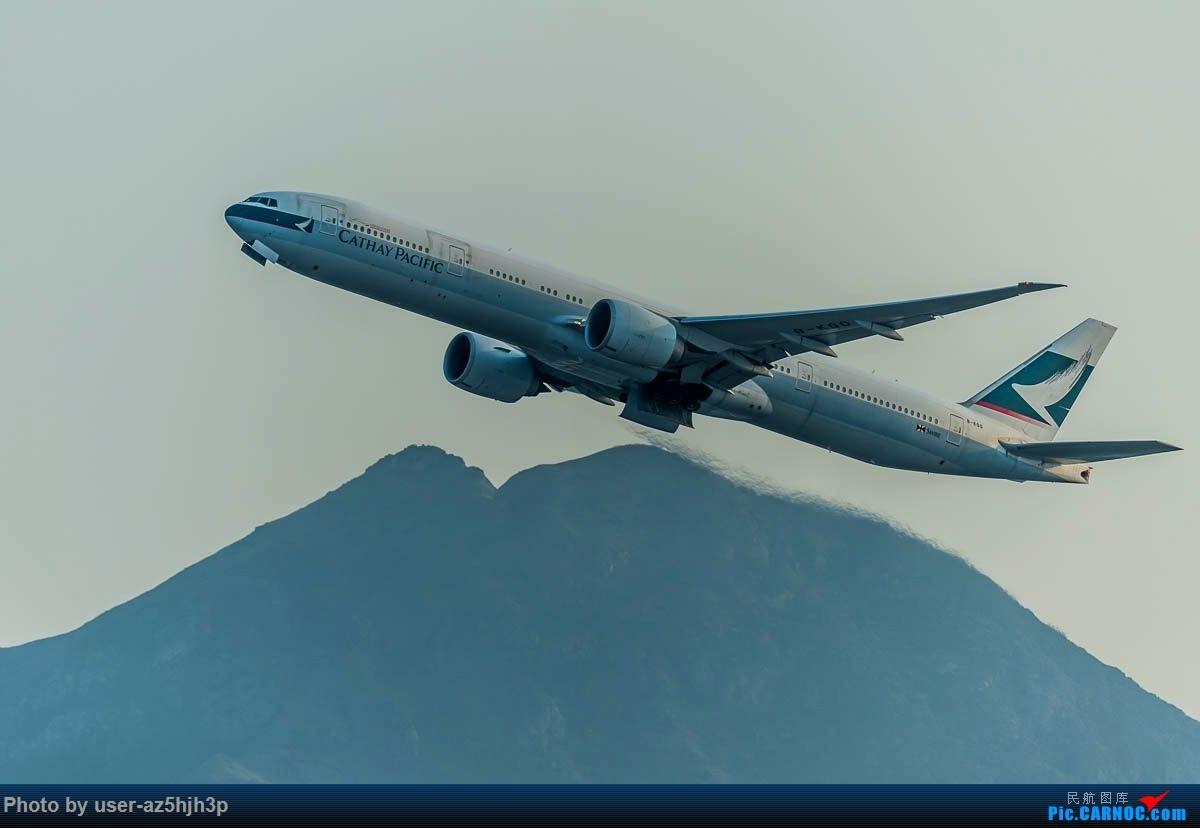 Re:[原创]2号客运大厅观景台拍机 BOEING 777-300ER B-KQO 香港国际机场