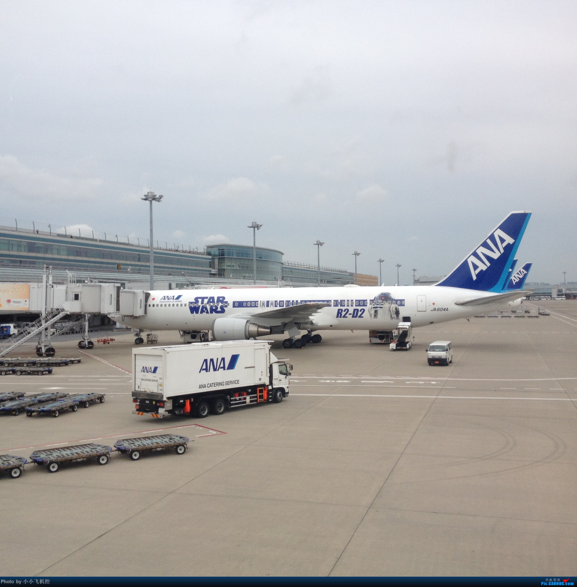 R2-D2! BOEING 767 JA604A 日本东京羽田国际机场
