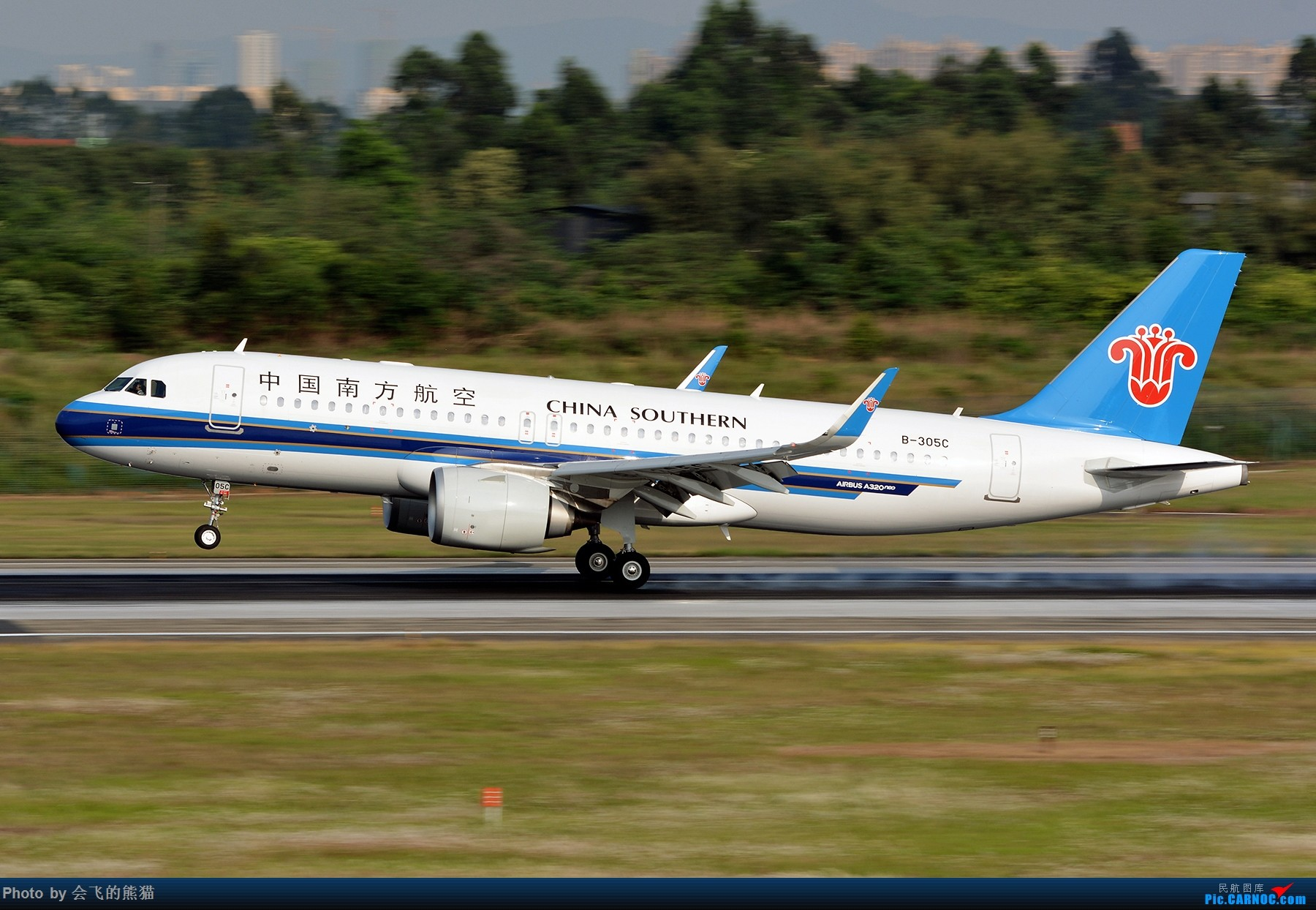 Re:[原创]偷得浮生半日闲 AIRBUS A320NEO B-305C 中国成都双流国际机场