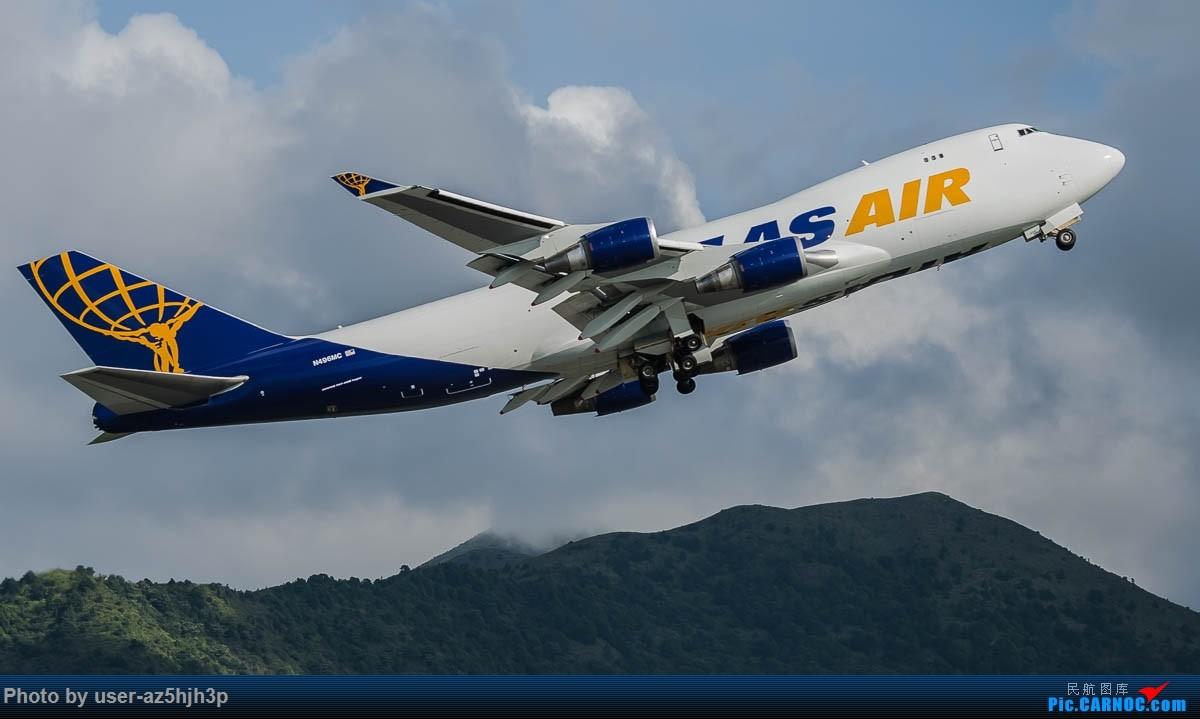 Re:[原创]飞向蓝天 BOEING 747-400 N496MC 香港国际机场
