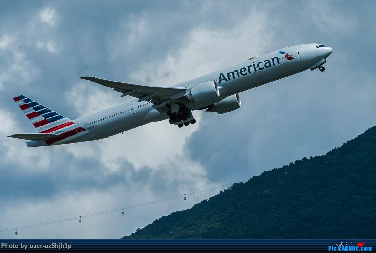 Re:[原创]飞向蓝天 BOEING 777-300 N731AN 香港国际机场