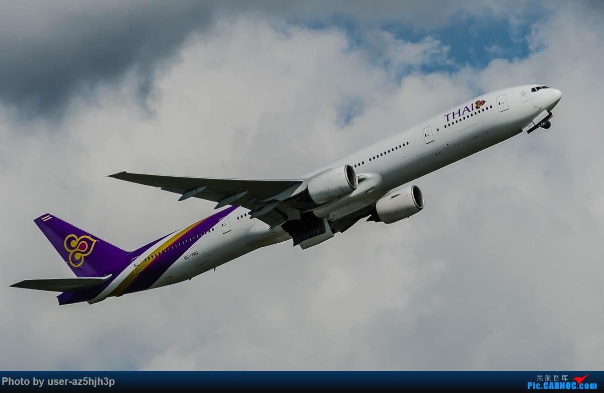 Re:[原创]飞向蓝天 BOEING 777-300 HS-TKD 香港国际机场