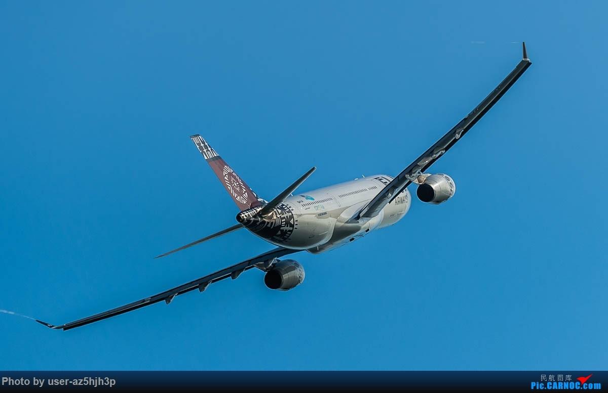 Re:[原创]飞向蓝天 AIRBUS A330-200 DQ-FJV 香港国际机场
