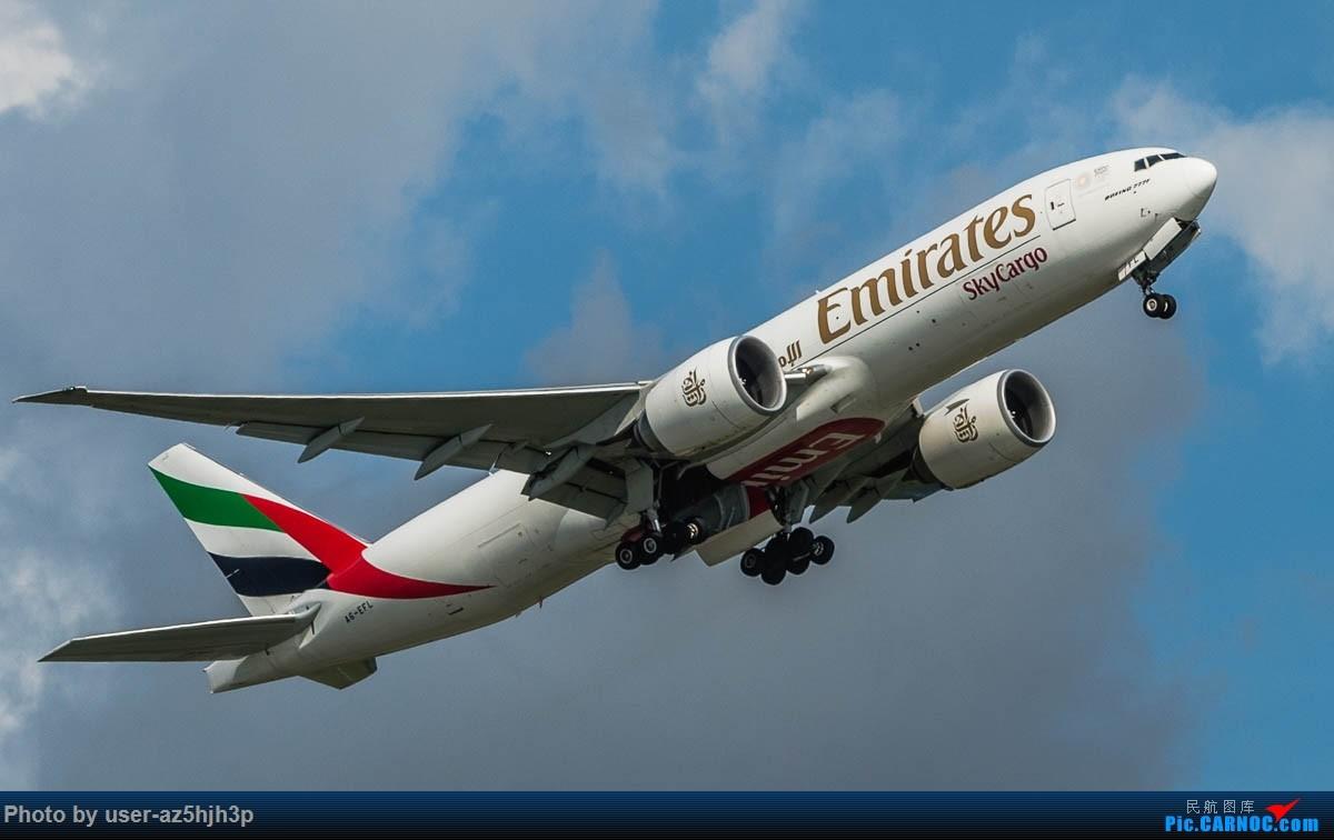 Re:飞向蓝天 BOEING 777F A6-EFL 香港国际机场