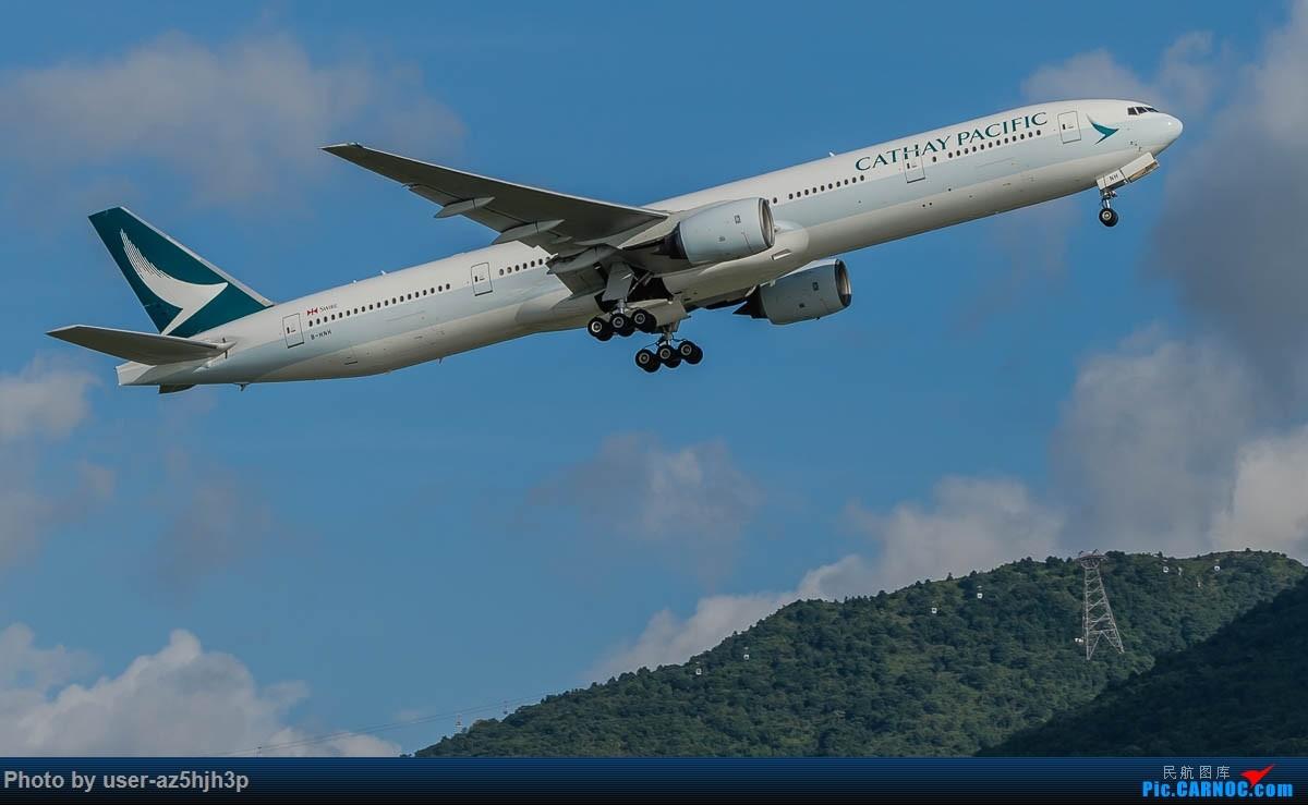 Re:[原创]飞向蓝天 BOEING 777-300 B-HNH 香港国际机场