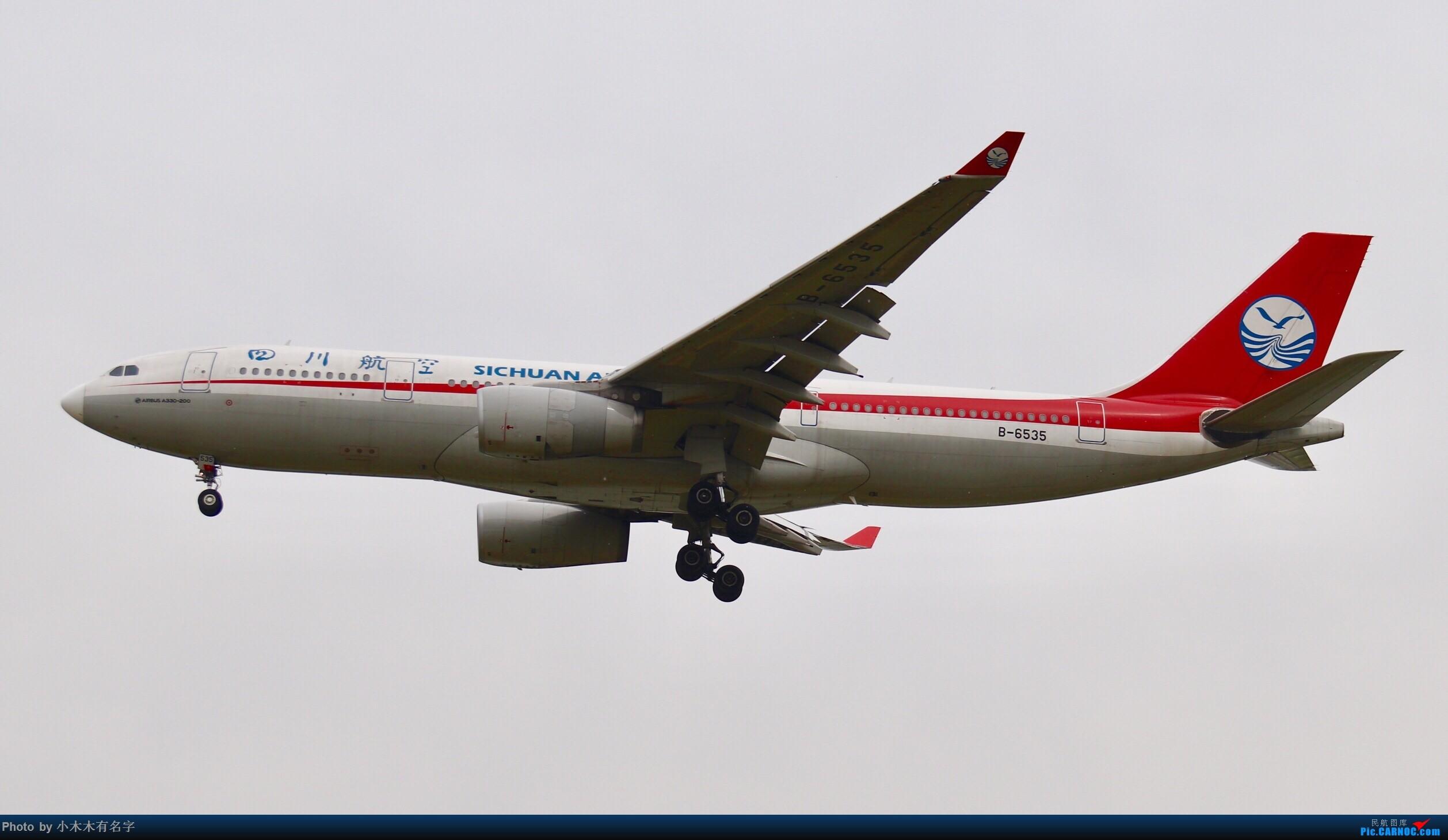 Re:[原创]没有蓝天背景的PEK AIRBUS A330-200 B-6535 中国北京首都国际机场