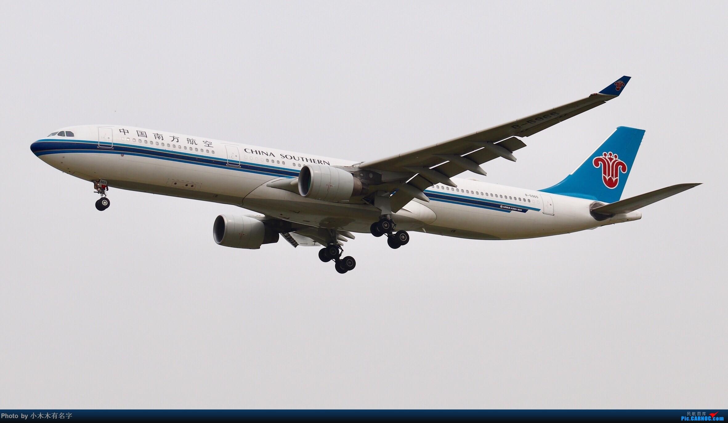 Re:[原创]没有蓝天背景的PEK AIRBUS A330-300 B-5965 中国北京首都国际机场