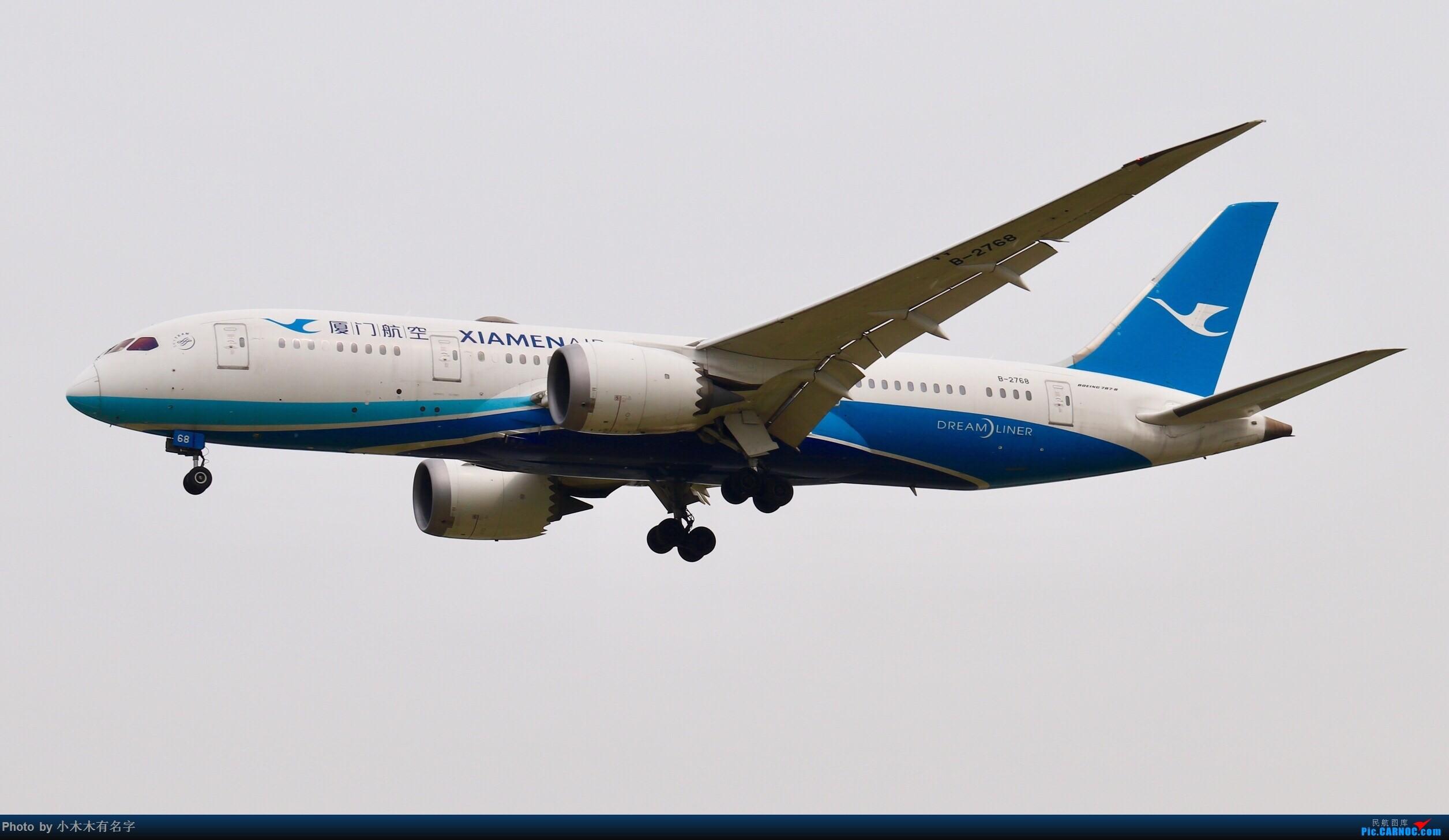 Re:[原创]没有蓝天背景的PEK BOEING 787-8 B-2768 中国北京首都国际机场