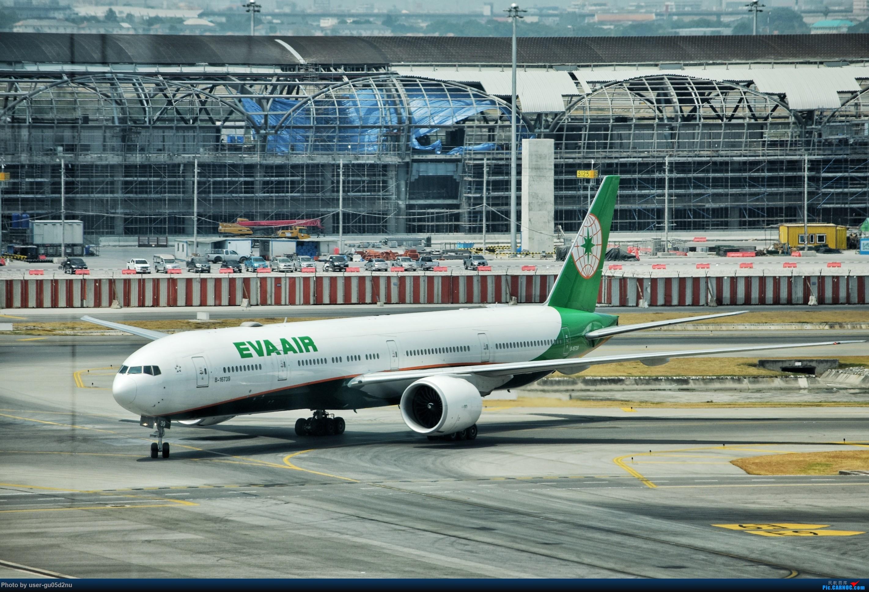Re:[原创]曼谷素万那普观景平台视角【滑行篇】 BOEING 777-300ER B-16739 Suvarnabhumi Airport