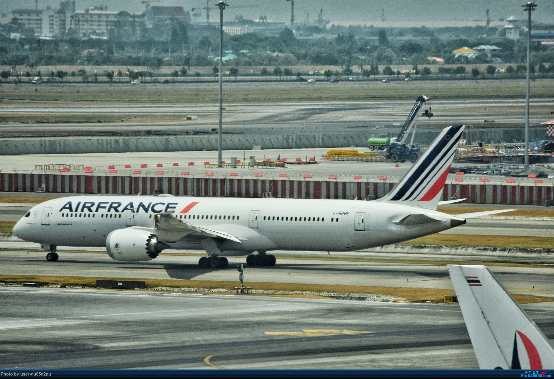 Re:[原创]曼谷素万那普观景平台视角【滑行篇】 BOEING 787-9 F-HRBF Suvarnabhumi Airport