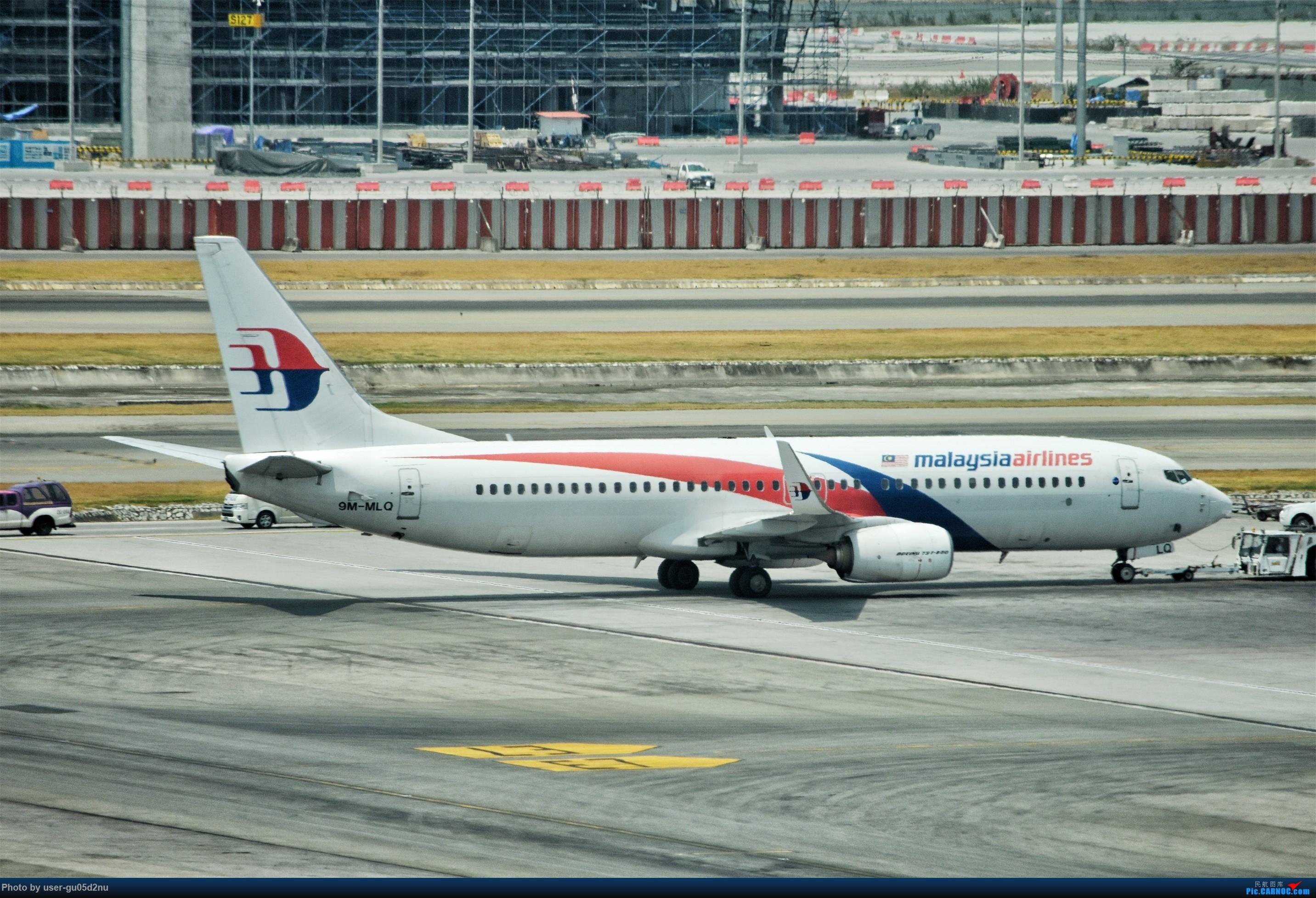 Re:[原创]曼谷素万那普观景平台视角【滑行篇】 BOEING 737-800 9M-MLQ Suvarnabhumi Airport