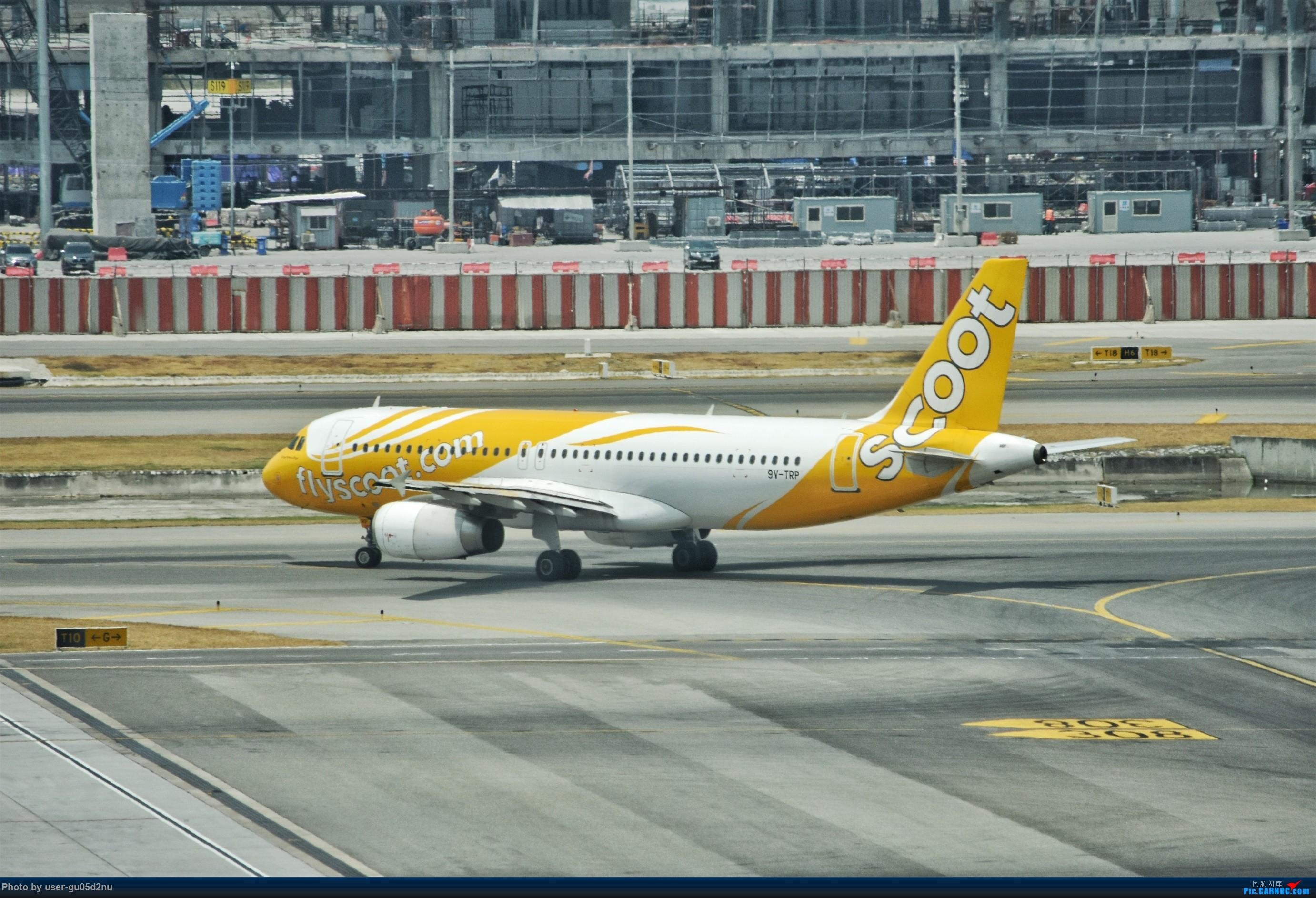 Re:[原创]曼谷素万那普观景平台视角【滑行篇】 AIRBUS A320 9V-TRP Suvarnabhumi Airport