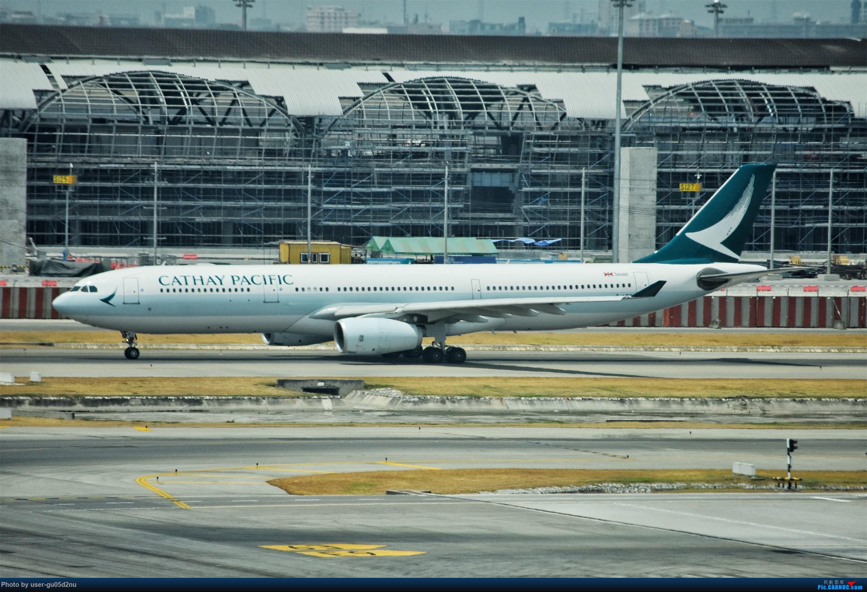 Re:[原创]曼谷素万那普观景平台视角【滑行篇】 AIRBUS A330-200 B-LBC Suvarnabhumi Airport