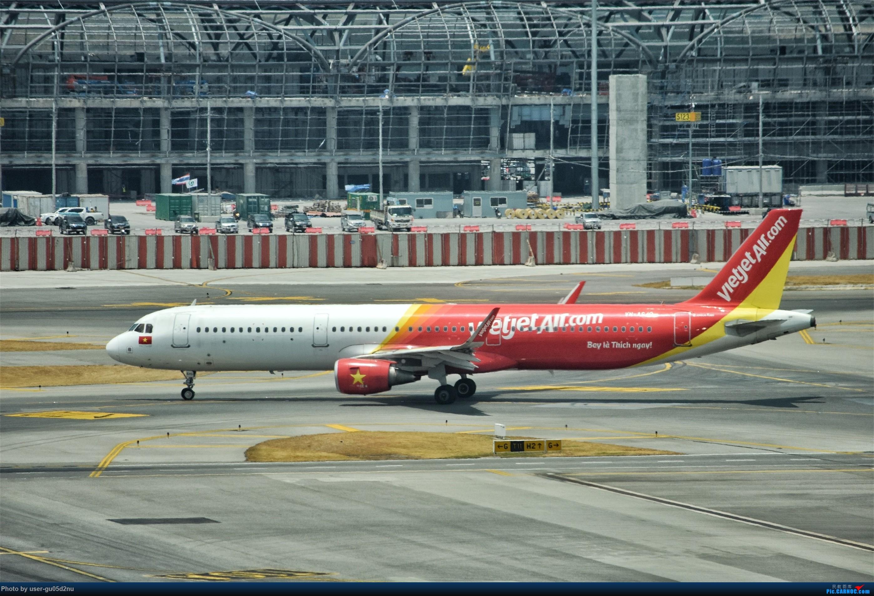 Re:[原创]曼谷素万那普观景平台视角【滑行篇】 AIRBUS A320 VN-A640 Suvarnabhumi Airport