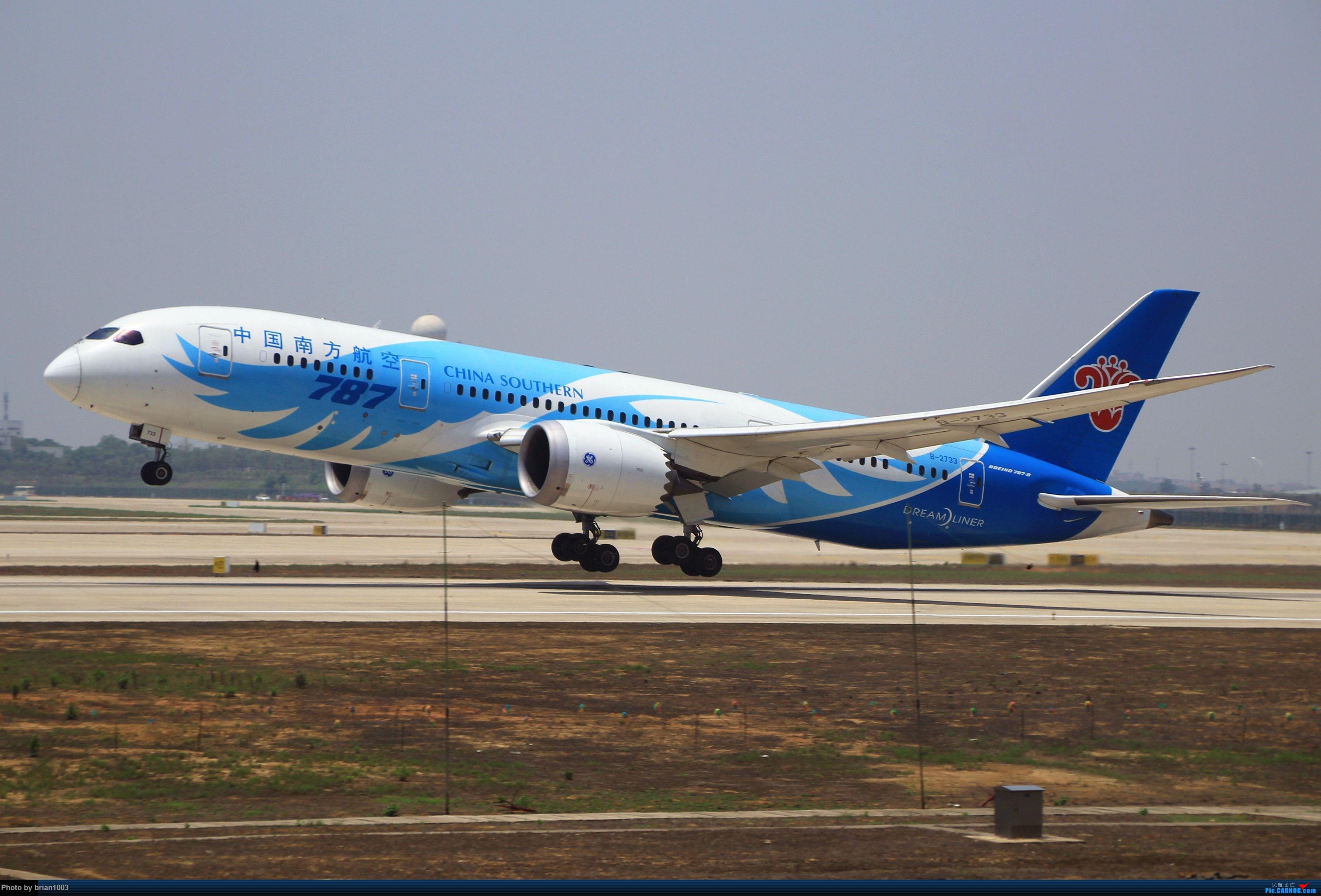 Re:[原创]WUH武汉天河机场拍机之喜迎酷航788和偶遇某其他飞机 BOEING 787-8 B-2733 WUH