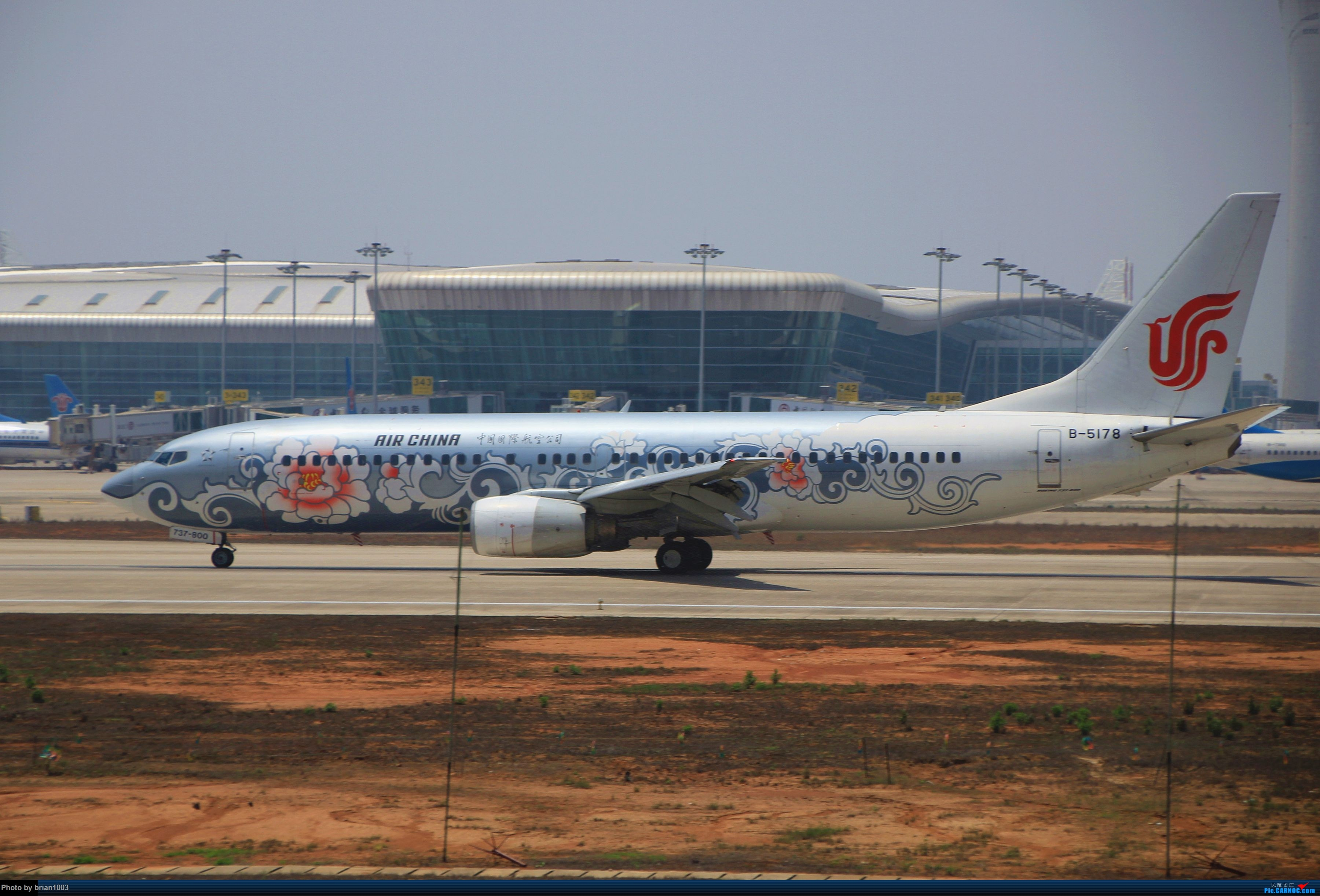Re:[原创]WUH武汉天河机场拍机之喜迎酷航788和偶遇某其他飞机 BOEING 737-800 B-5178