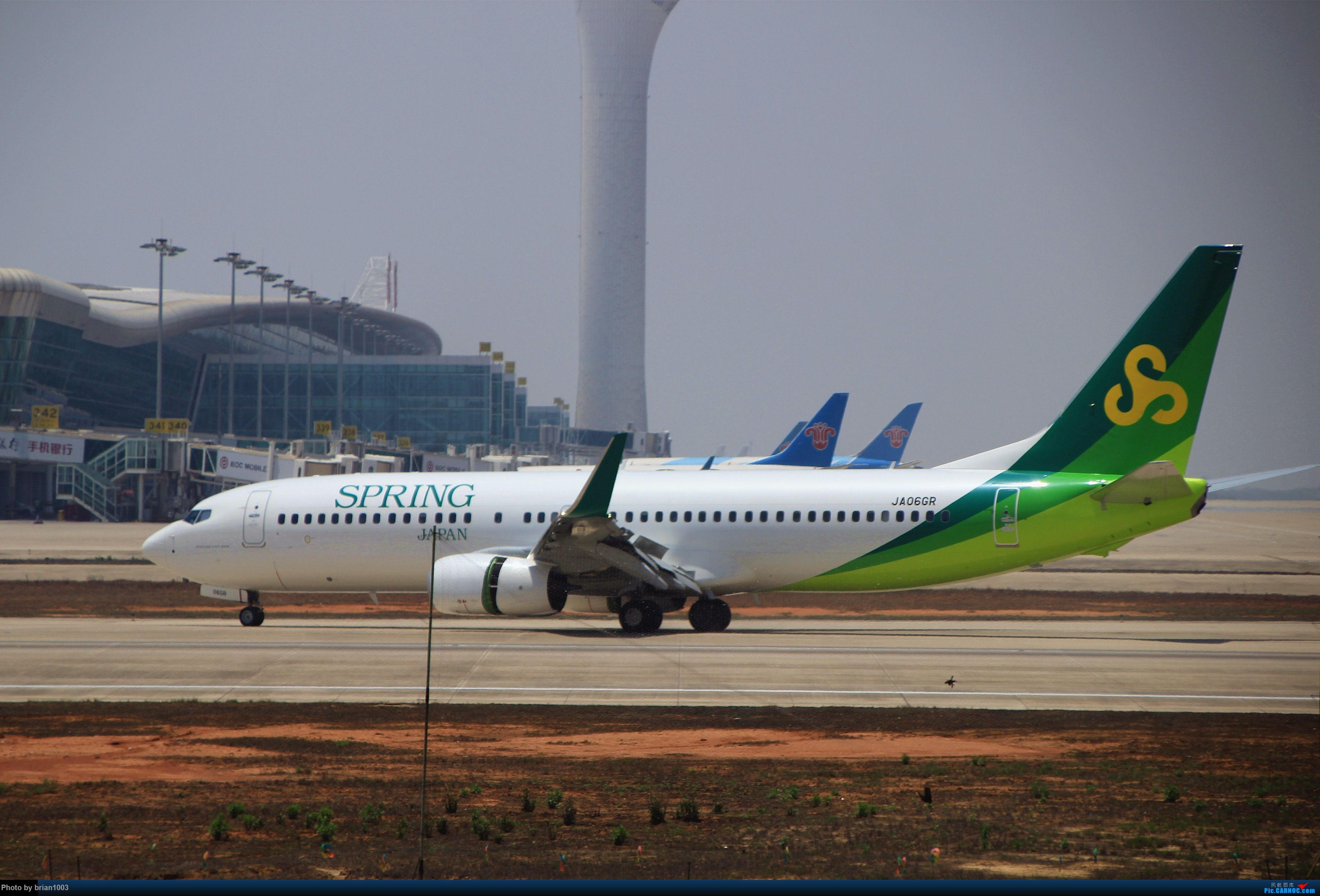 Re:[原创]WUH武汉天河机场拍机之喜迎酷航788和偶遇某其他飞机 BOEING 737-800 JA06GR WUH