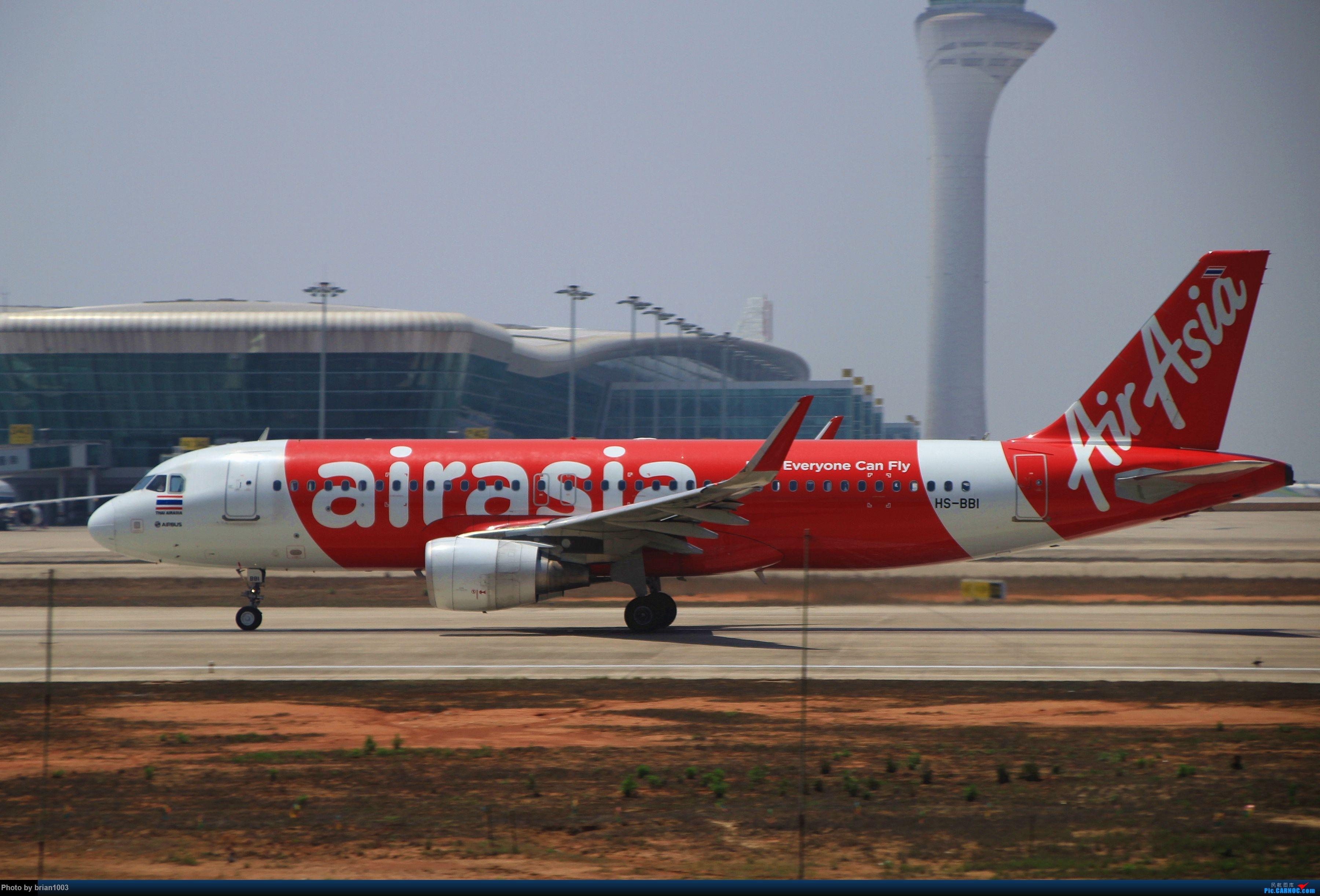 Re:[原创]WUH武汉天河机场拍机之喜迎酷航788和偶遇某其他飞机 AIRBUS A320 HS-BBI