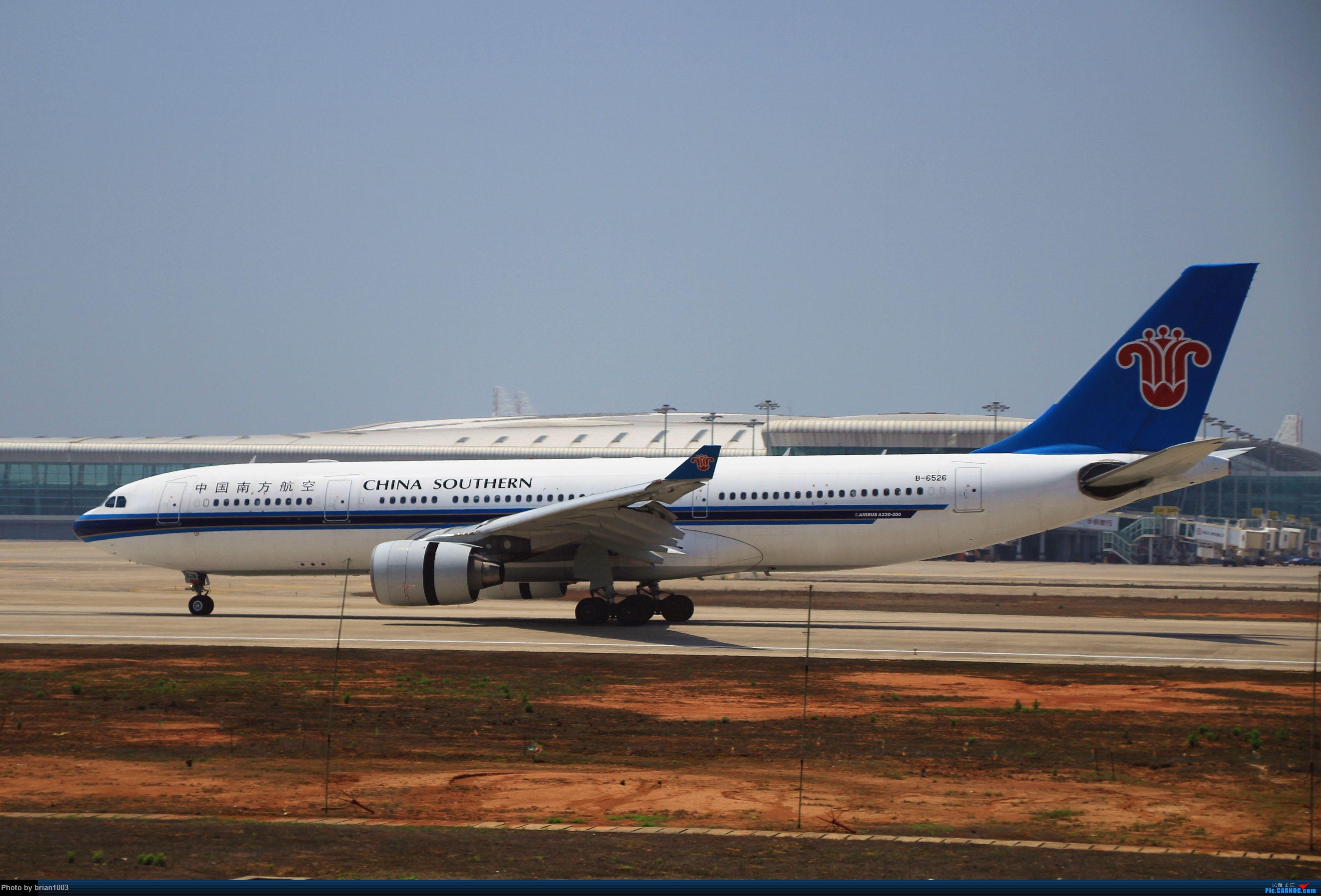 Re:[原创]WUH武汉天河机场拍机之喜迎酷航788和偶遇某其他飞机 AIRBUS A330-200 B-6526
