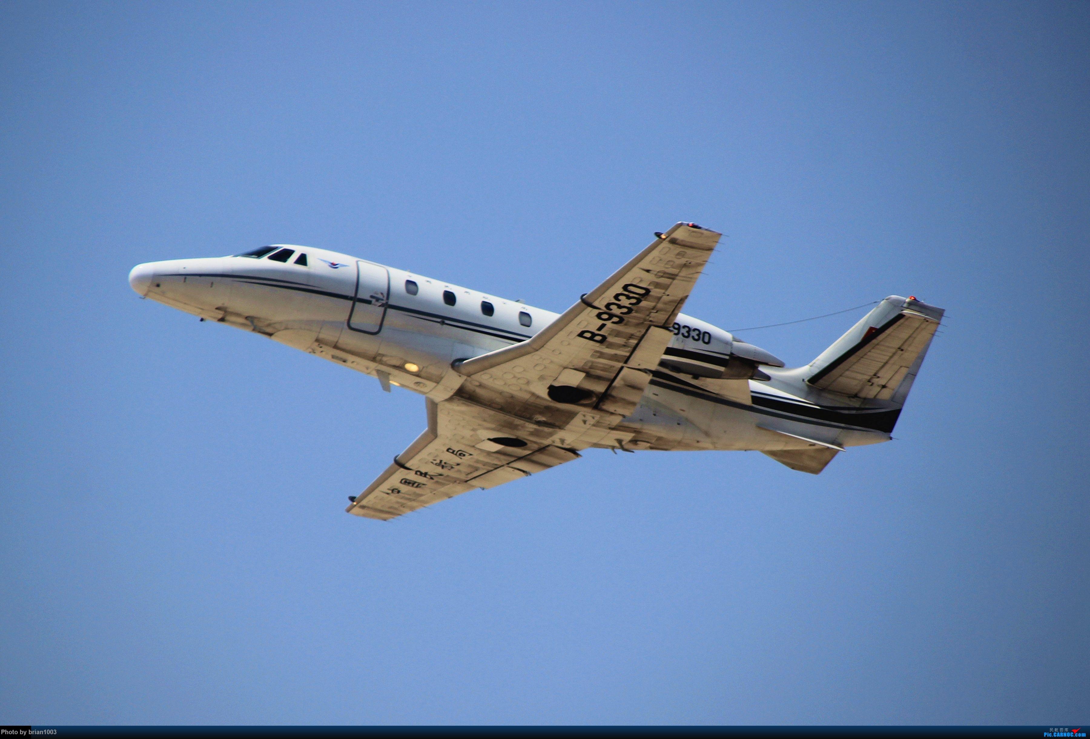 Re:[原创]WUH武汉天河机场拍机之喜迎酷航788和偶遇某其他飞机 CESSNA 560XLS B-9330