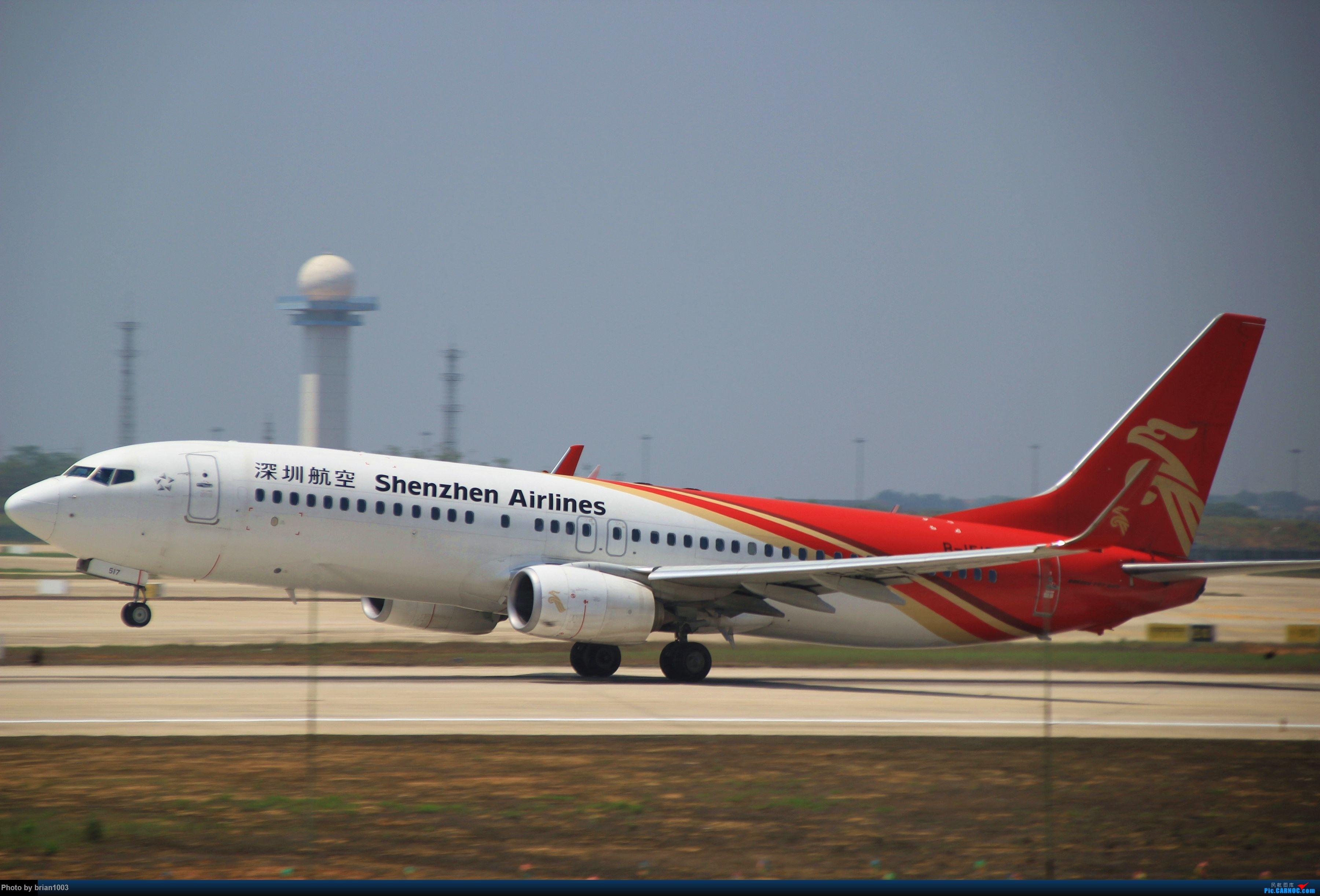 Re:[原创]WUH武汉天河机场拍机之喜迎酷航788和偶遇某其他飞机 BOEING 737-800 B-1517