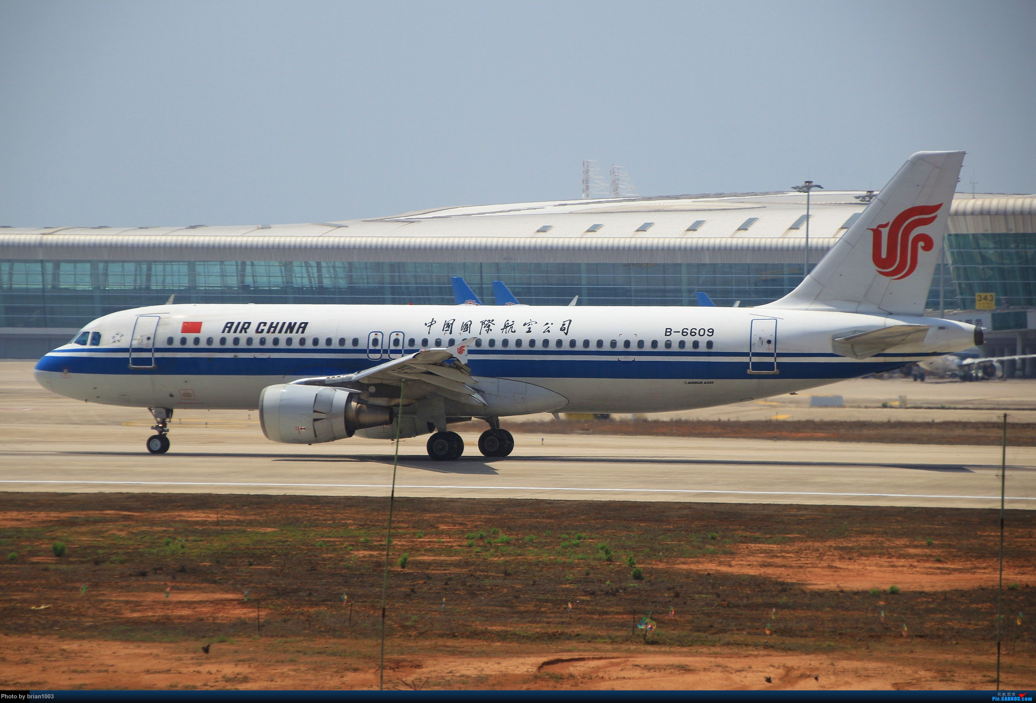 Re:[原创]WUH武汉天河机场拍机之喜迎酷航788和偶遇某其他飞机 AIRBUS A320-200 B-6609
