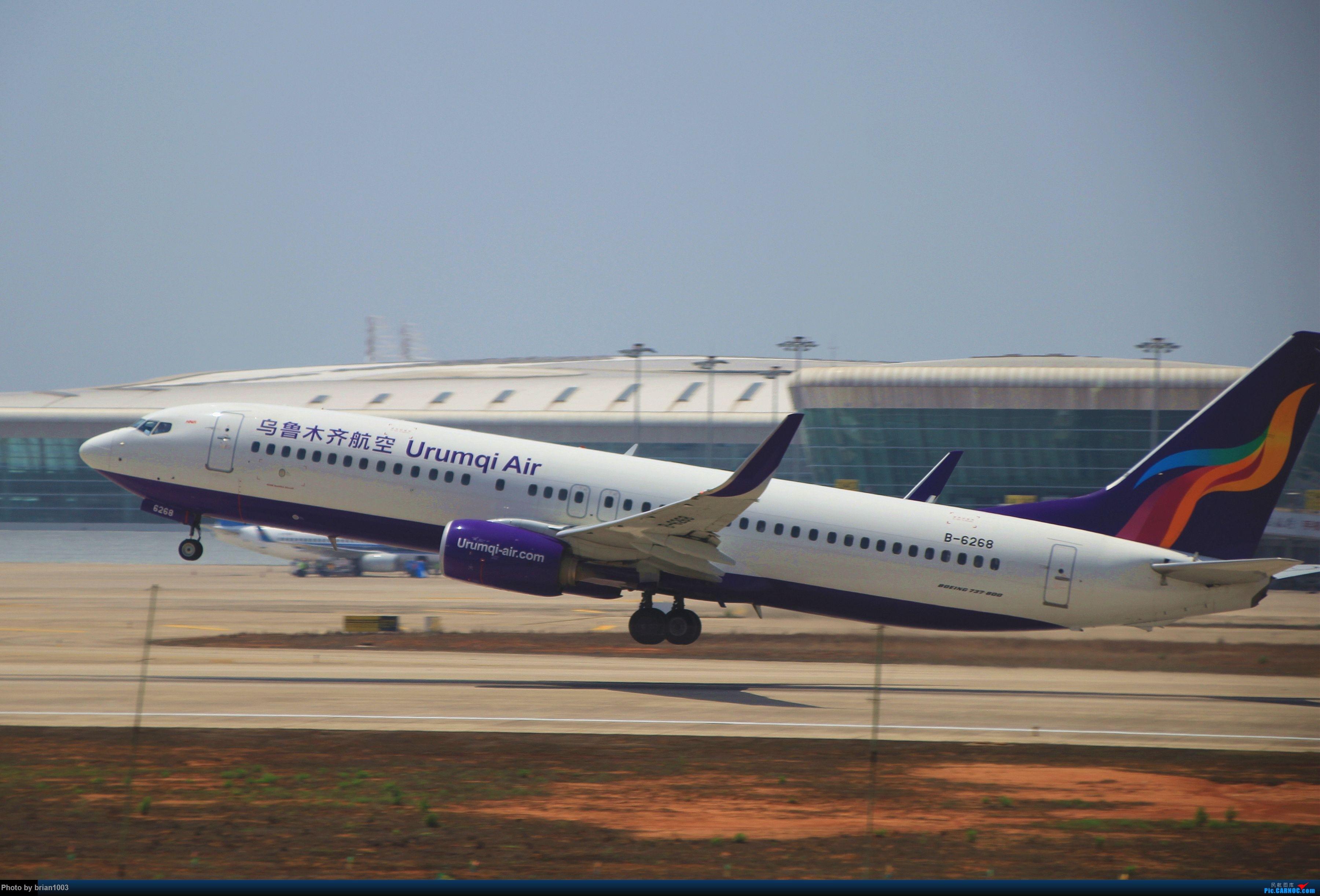 Re:[原创]WUH武汉天河机场拍机之喜迎酷航788和偶遇某其他飞机 BOEING 737-800 B-6268