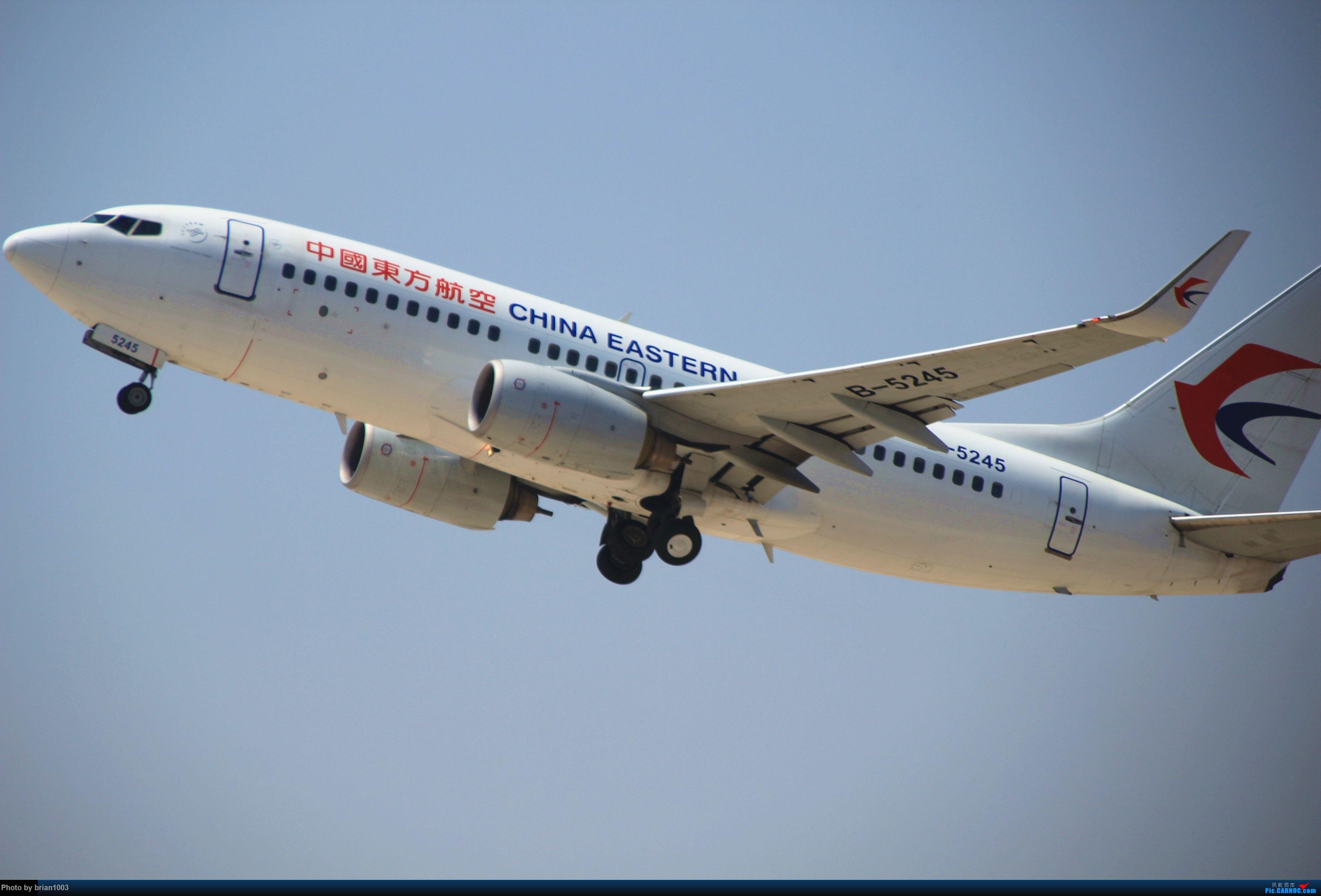 Re:[原创]WUH武汉天河机场拍机之喜迎酷航788和偶遇某其他飞机 BOEING 737-700 B-5245
