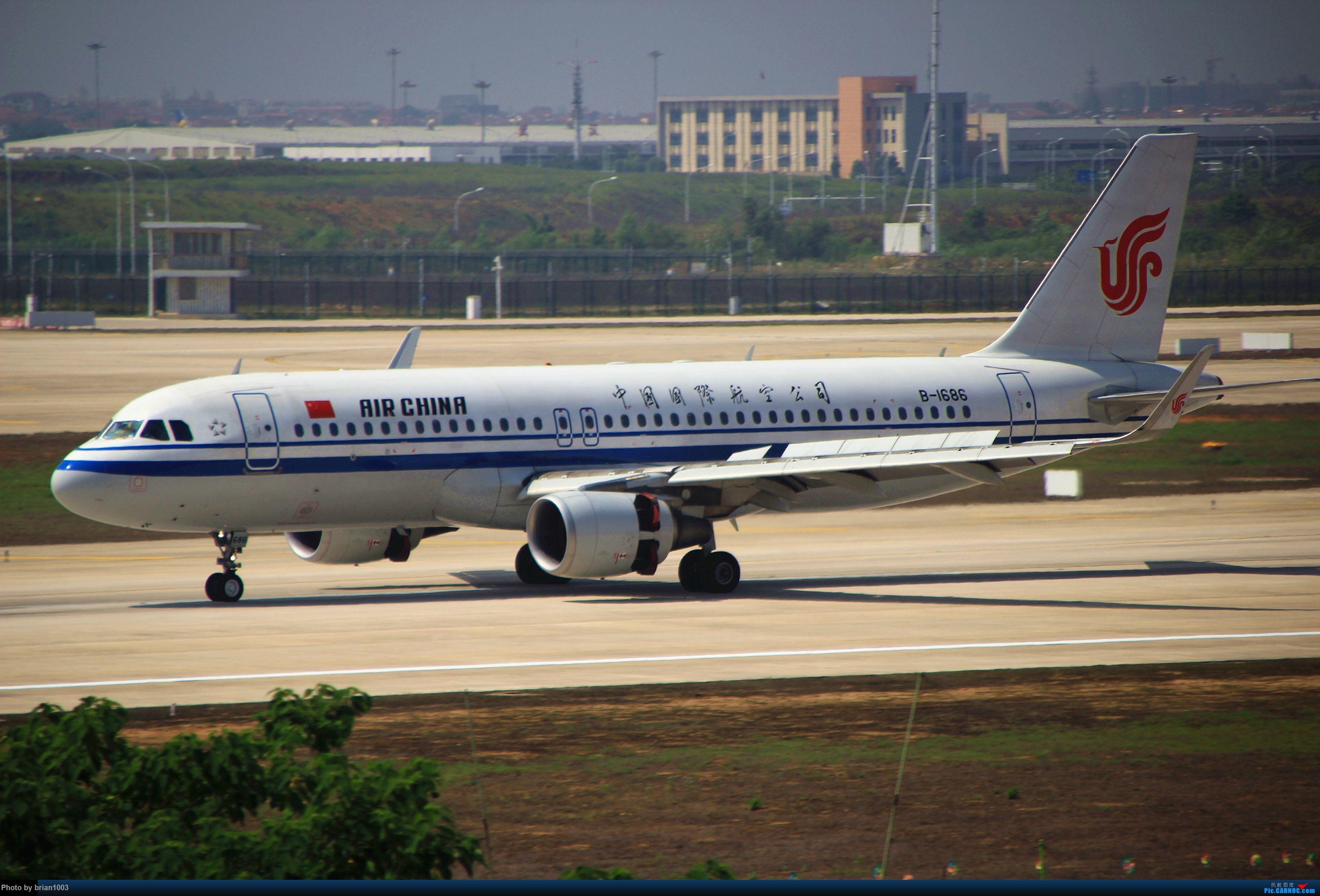 Re:[原创]WUH武汉天河机场拍机之喜迎酷航788和偶遇某其他飞机 AIRBUS A320-200 B-1686