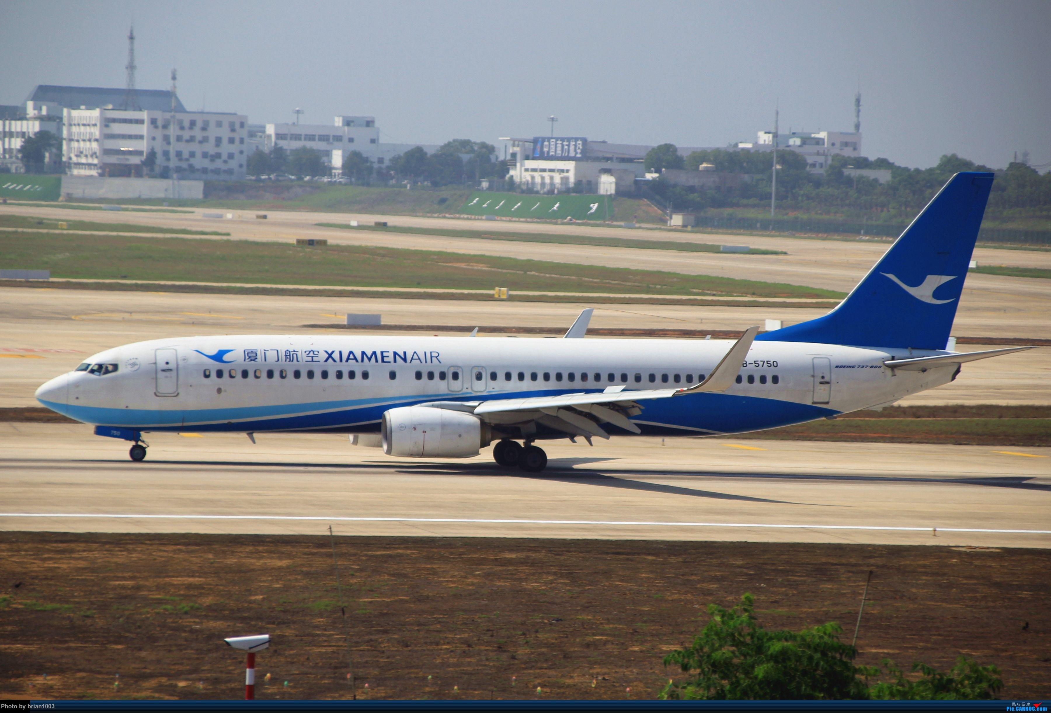 Re:[原创]WUH武汉天河机场拍机之喜迎酷航788和偶遇某其他飞机 BOEING 737-800 B-5750