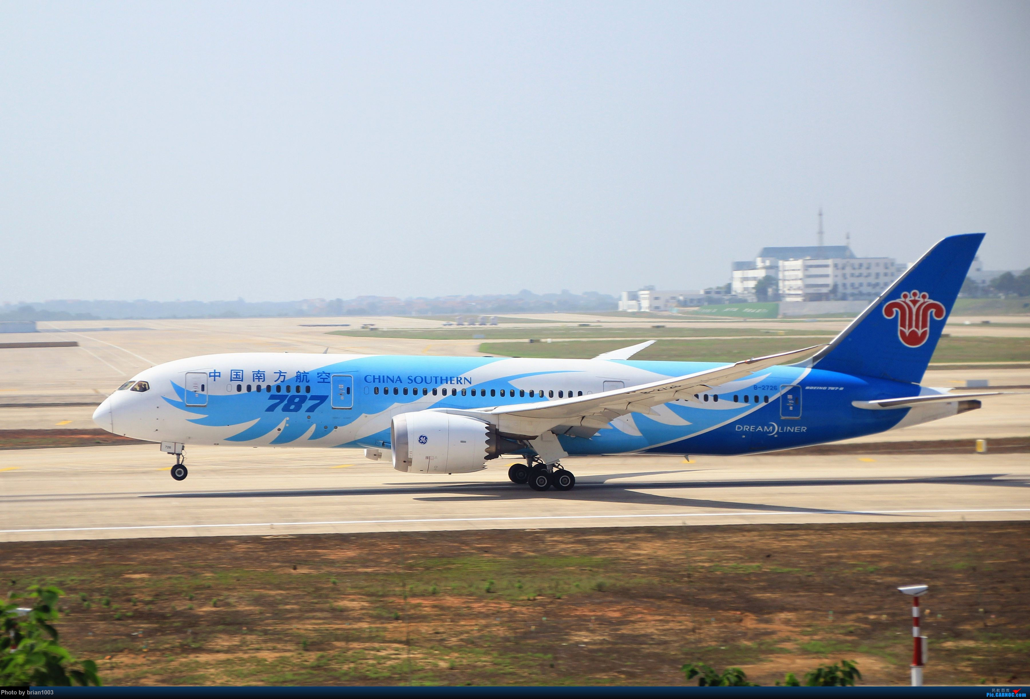 Re:WUH武汉天河机场拍机之喜迎酷航788和偶遇某其他飞机 BOEING 787-8 B-2726