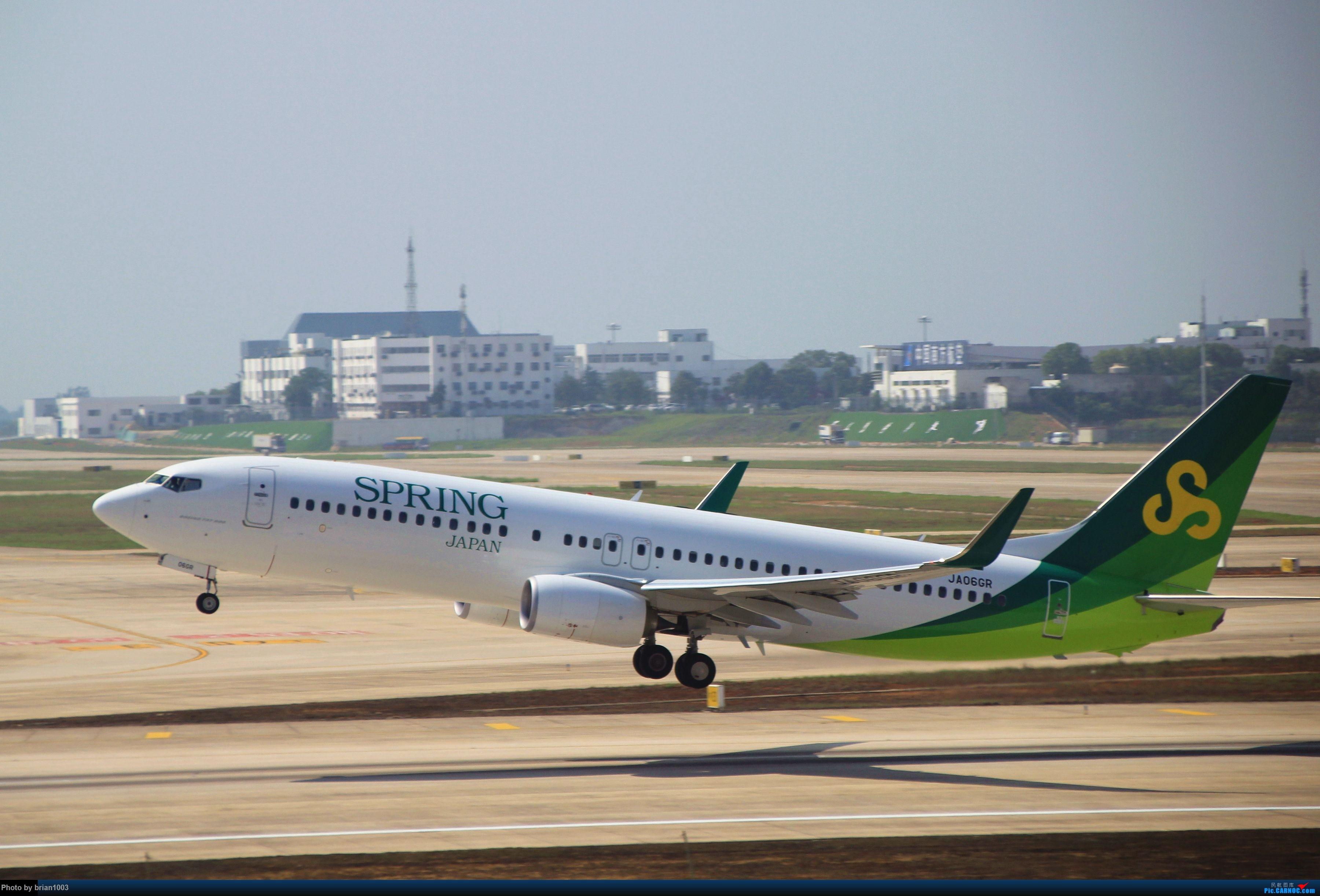 Re:[原创]WUH武汉天河机场拍机之喜迎酷航788和偶遇某其他飞机 BOEING 737-800 JA06GR