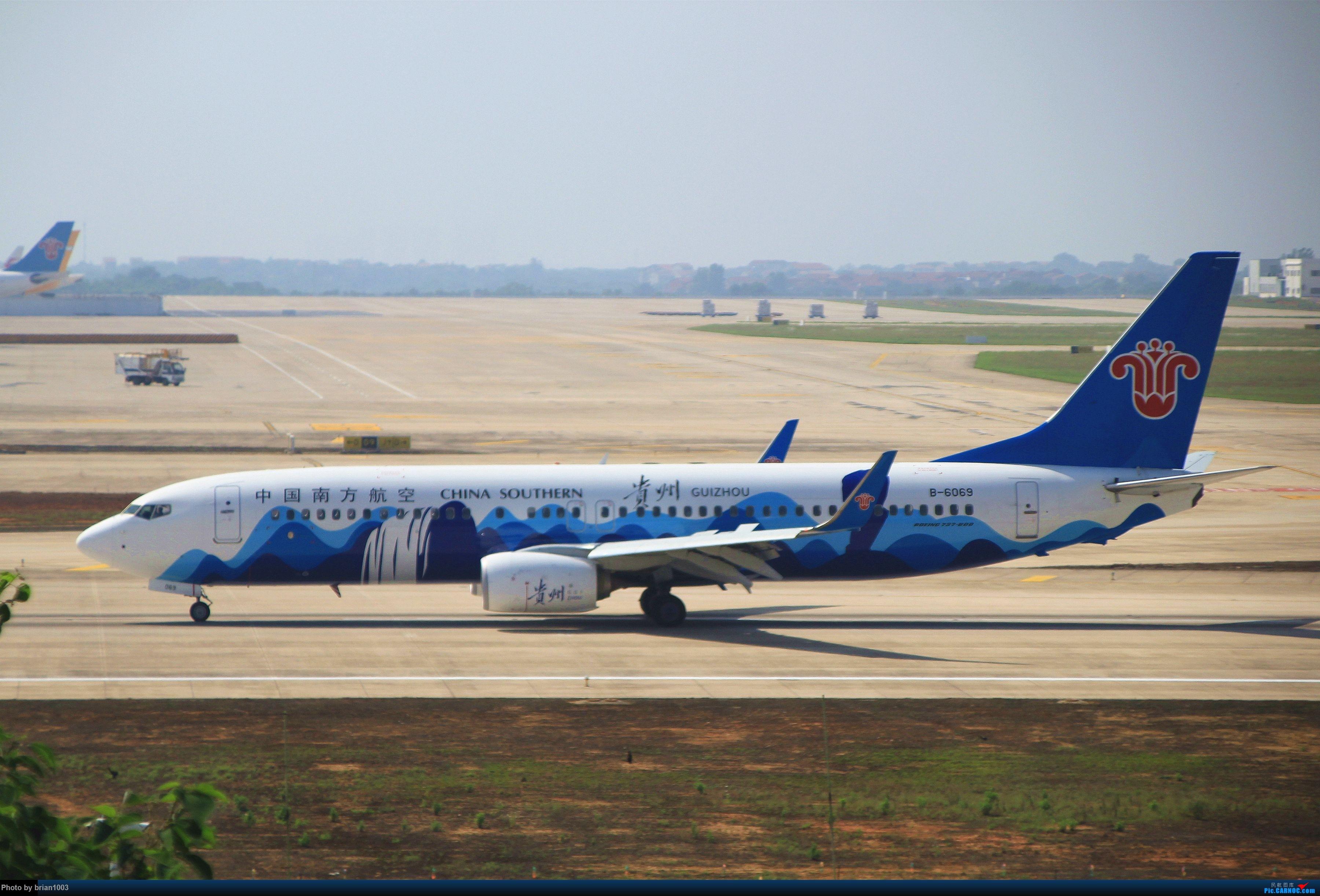 Re:[原创]WUH武汉天河机场拍机之喜迎酷航788和偶遇某其他飞机 BOEING 737-800 B-6069