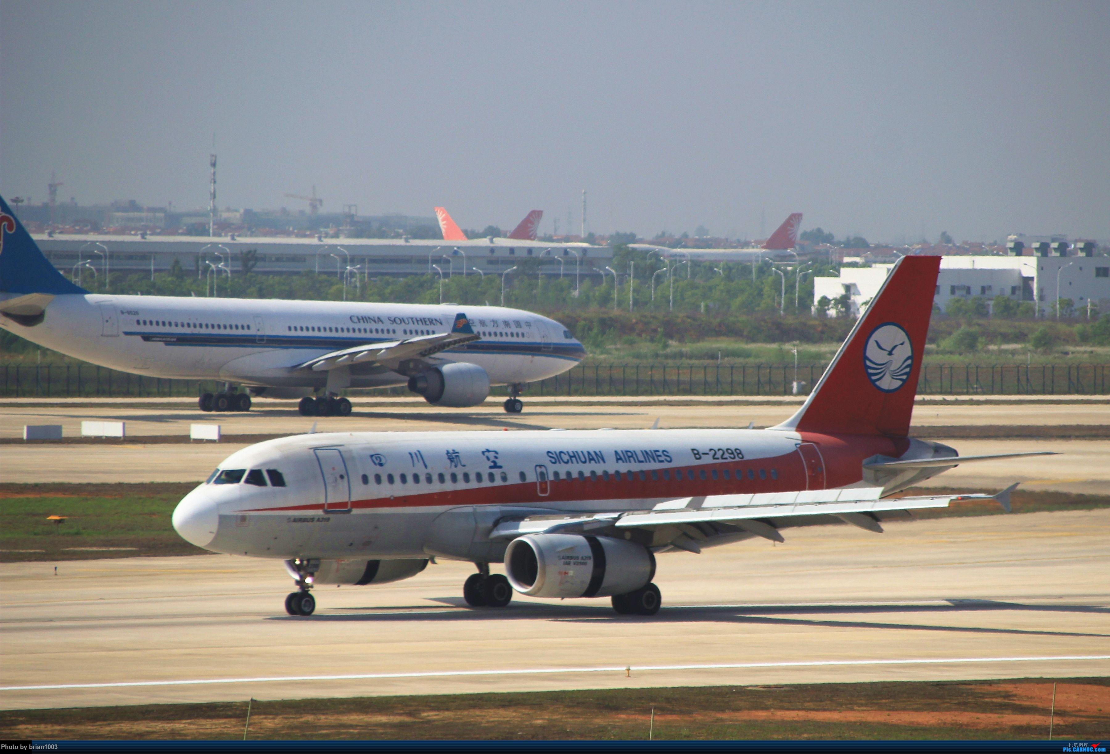 Re:[原创]WUH武汉天河机场拍机之喜迎酷航788和偶遇某其他飞机 AIRBUS A319-100 B-2298