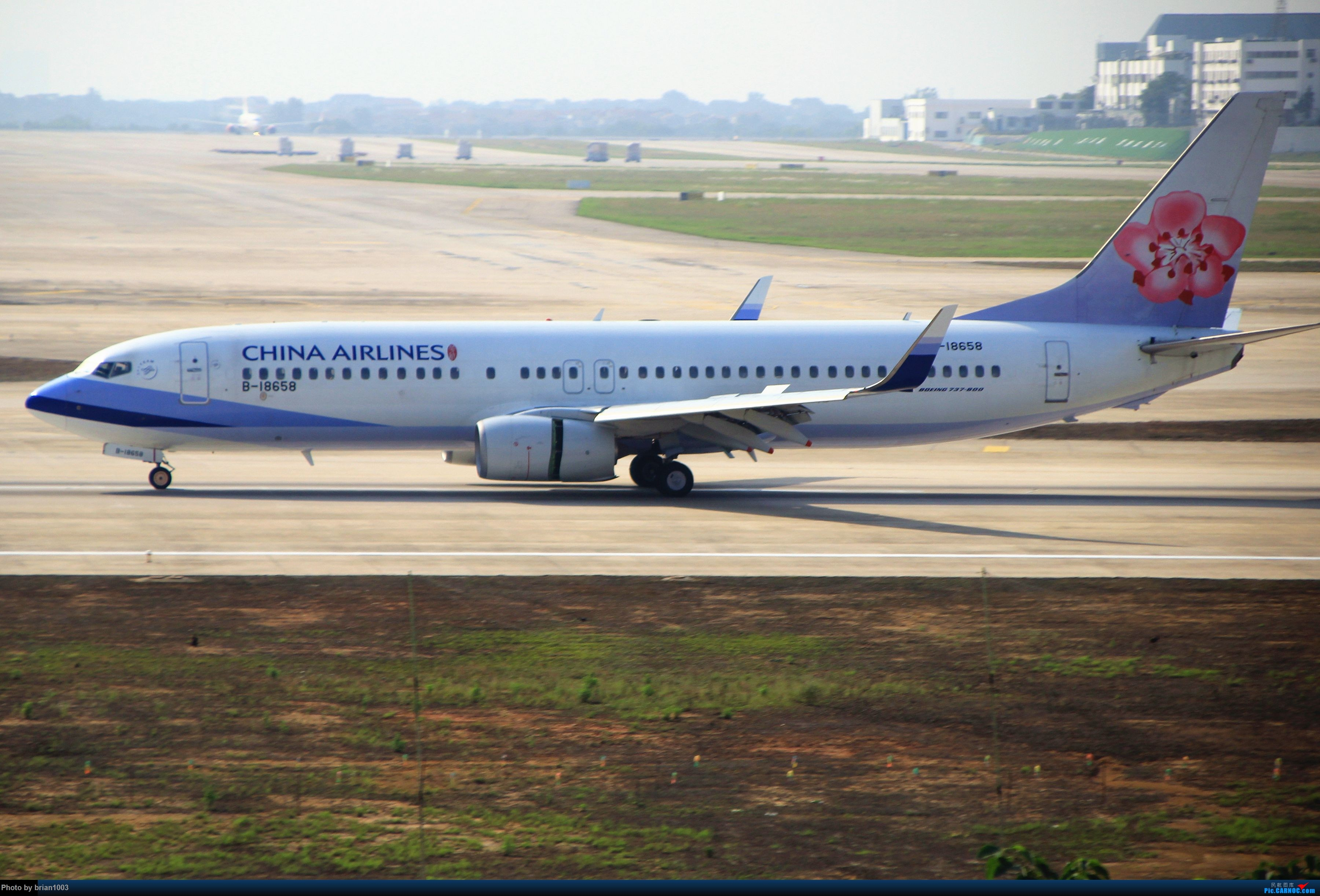 Re:[原创]WUH武汉天河机场拍机之喜迎酷航788和偶遇某其他飞机 BOEING 737-800 B-18658