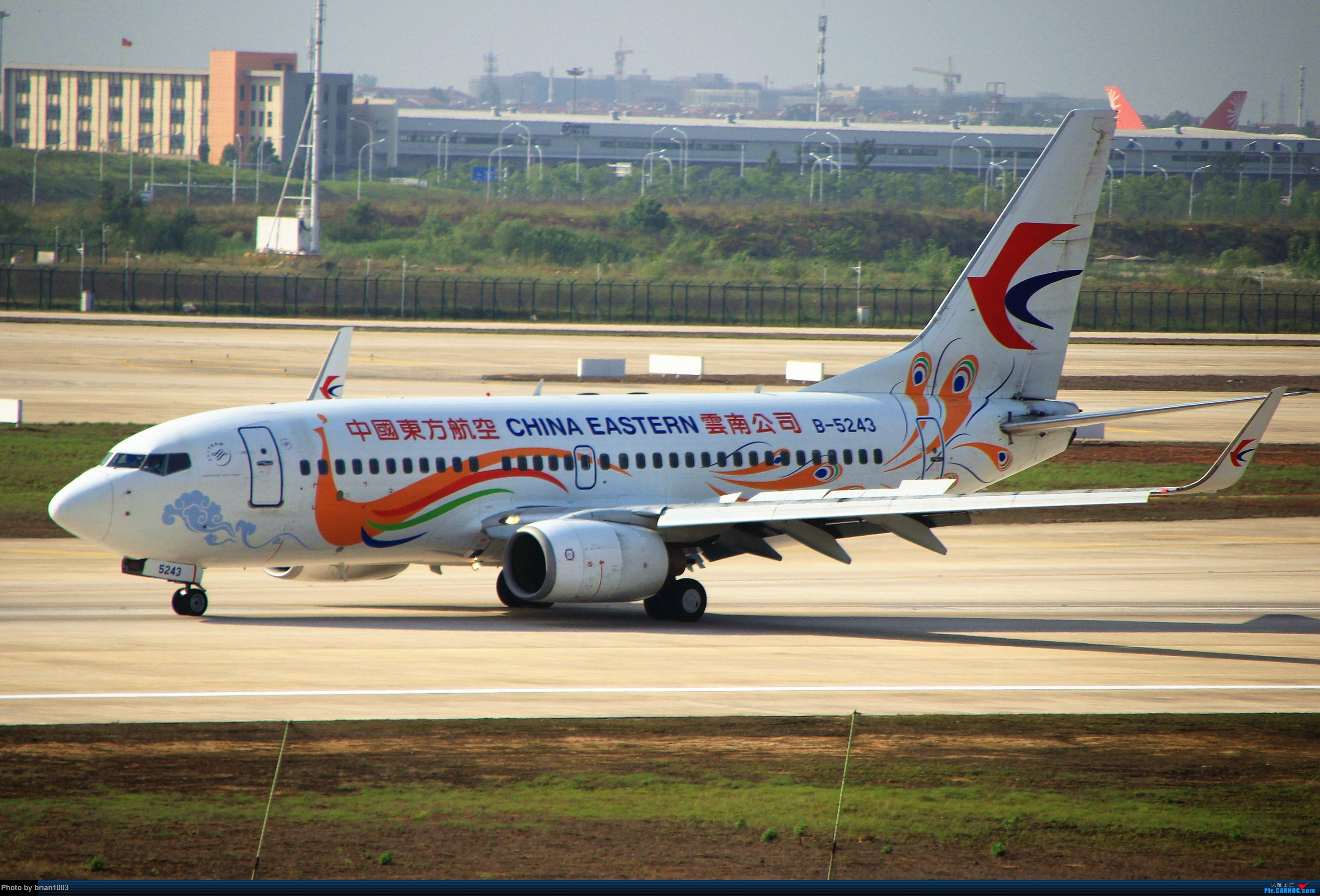 Re:WUH武汉天河机场拍机之喜迎酷航788和偶遇某其他飞机 BOEING 737-700 B-5243