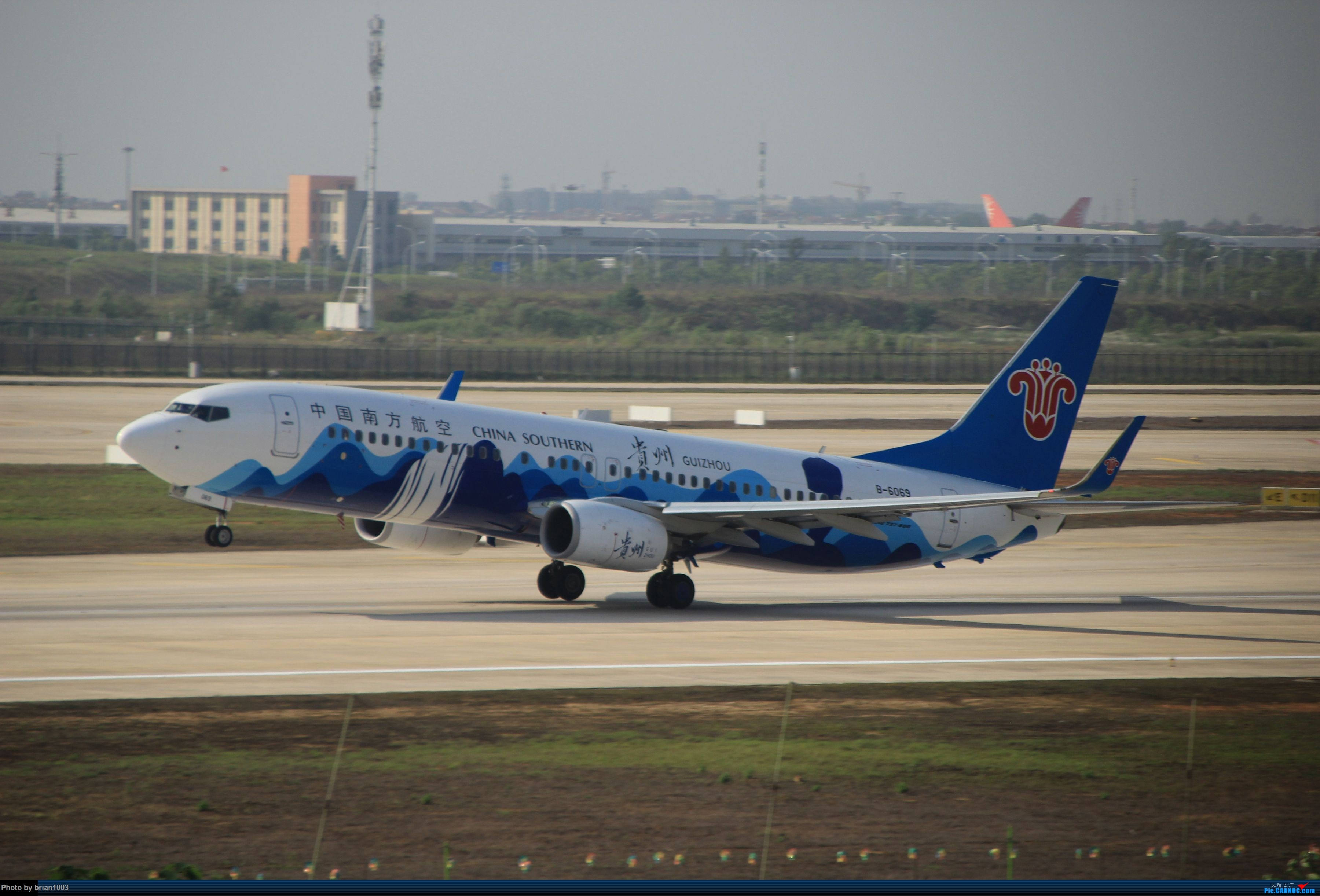 Re:[原创]WUH武汉天河机场拍机之喜迎酷航788和偶遇某其他飞机 BOEING 737-800 B-6069 WUH