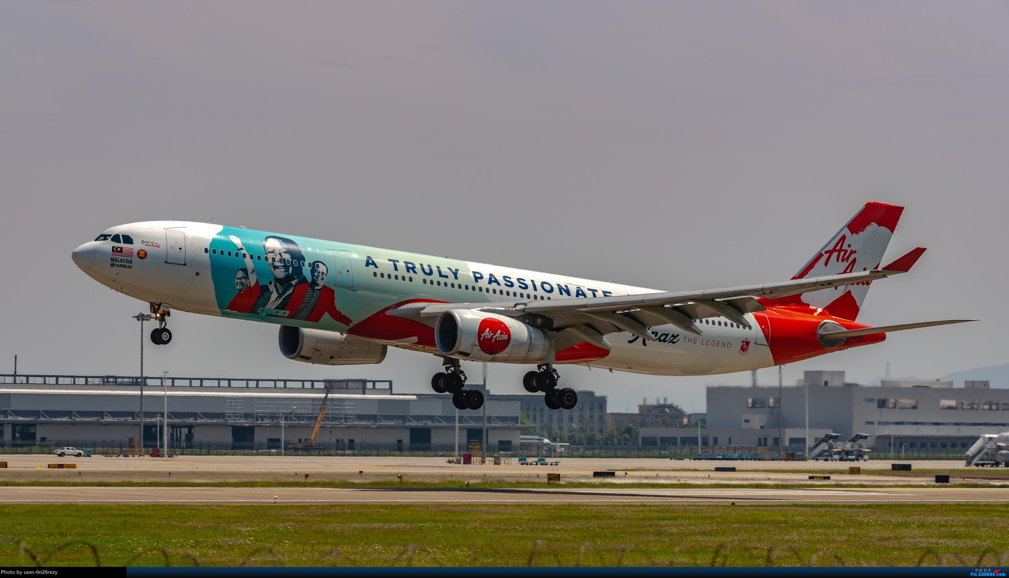 [原创]HGH的亚航彩绘机 AIRBUSA330-343 9M-XXH 中国杭州萧山国际机场