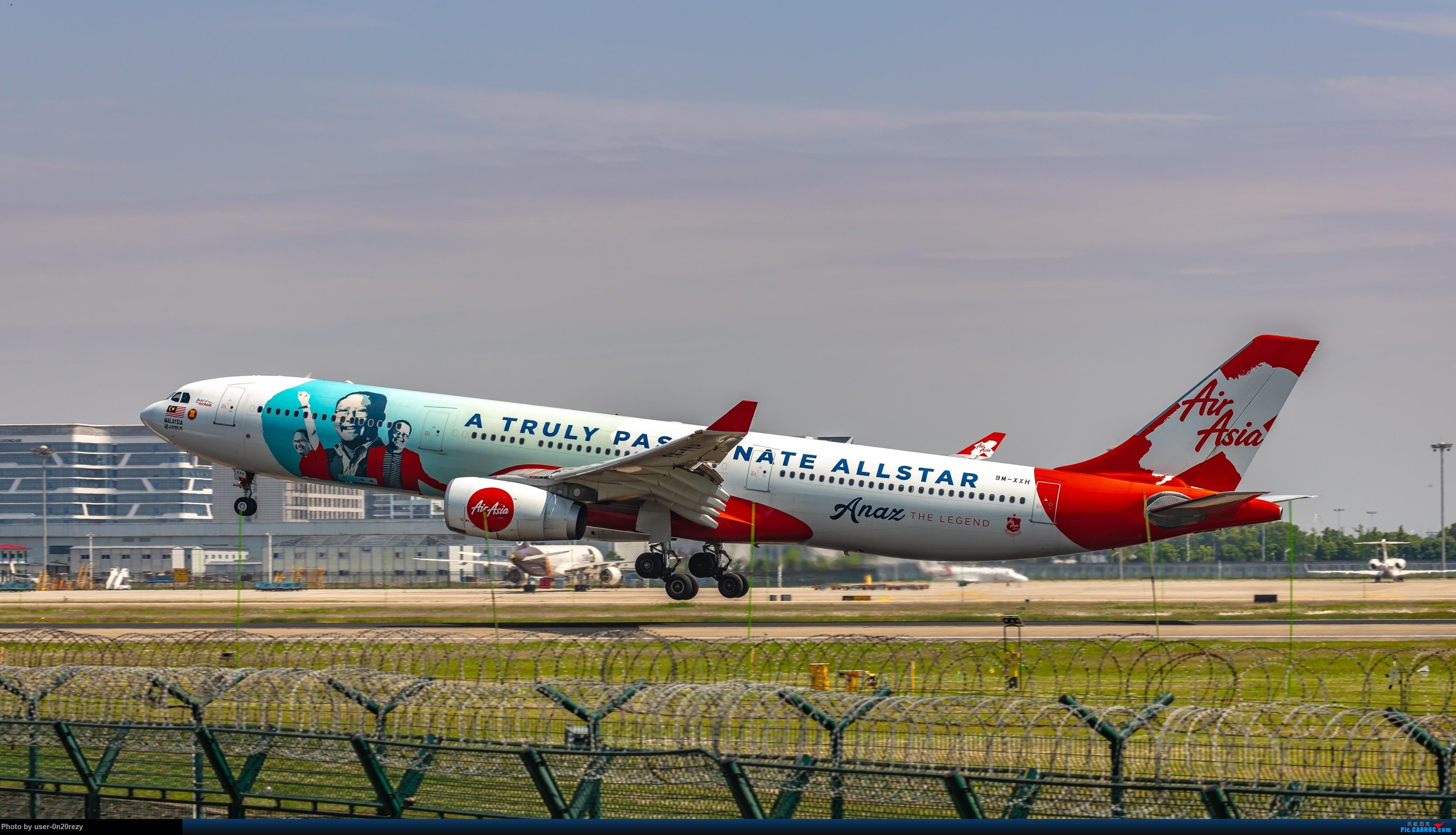 Re:HGH的亚航彩绘机 AIRBUSA330-343 9M-XXH 中国杭州萧山国际机场