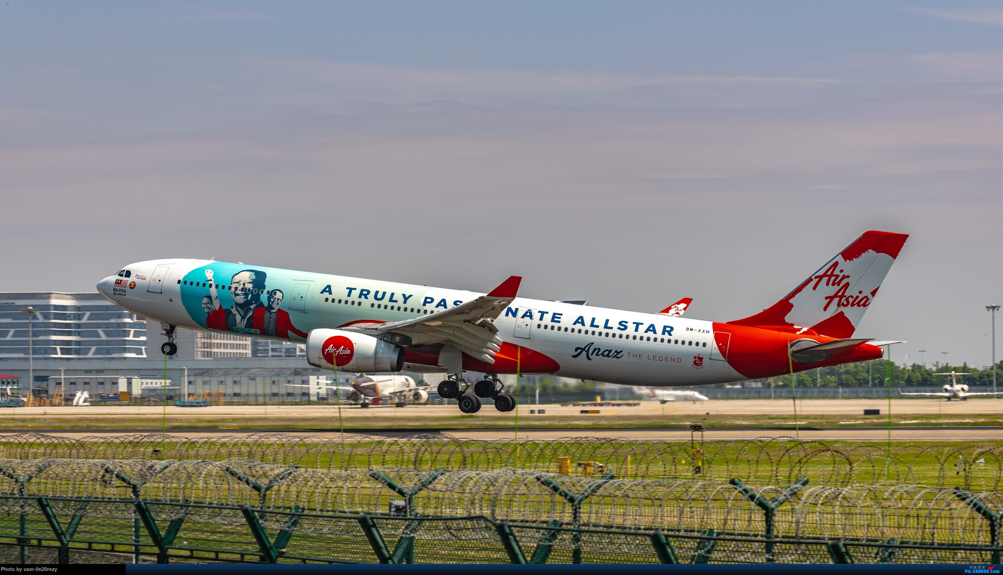 Re:[原创]HGH的亚航彩绘机 AIRBUSA330-343 9M-XXH 中国杭州萧山国际机场