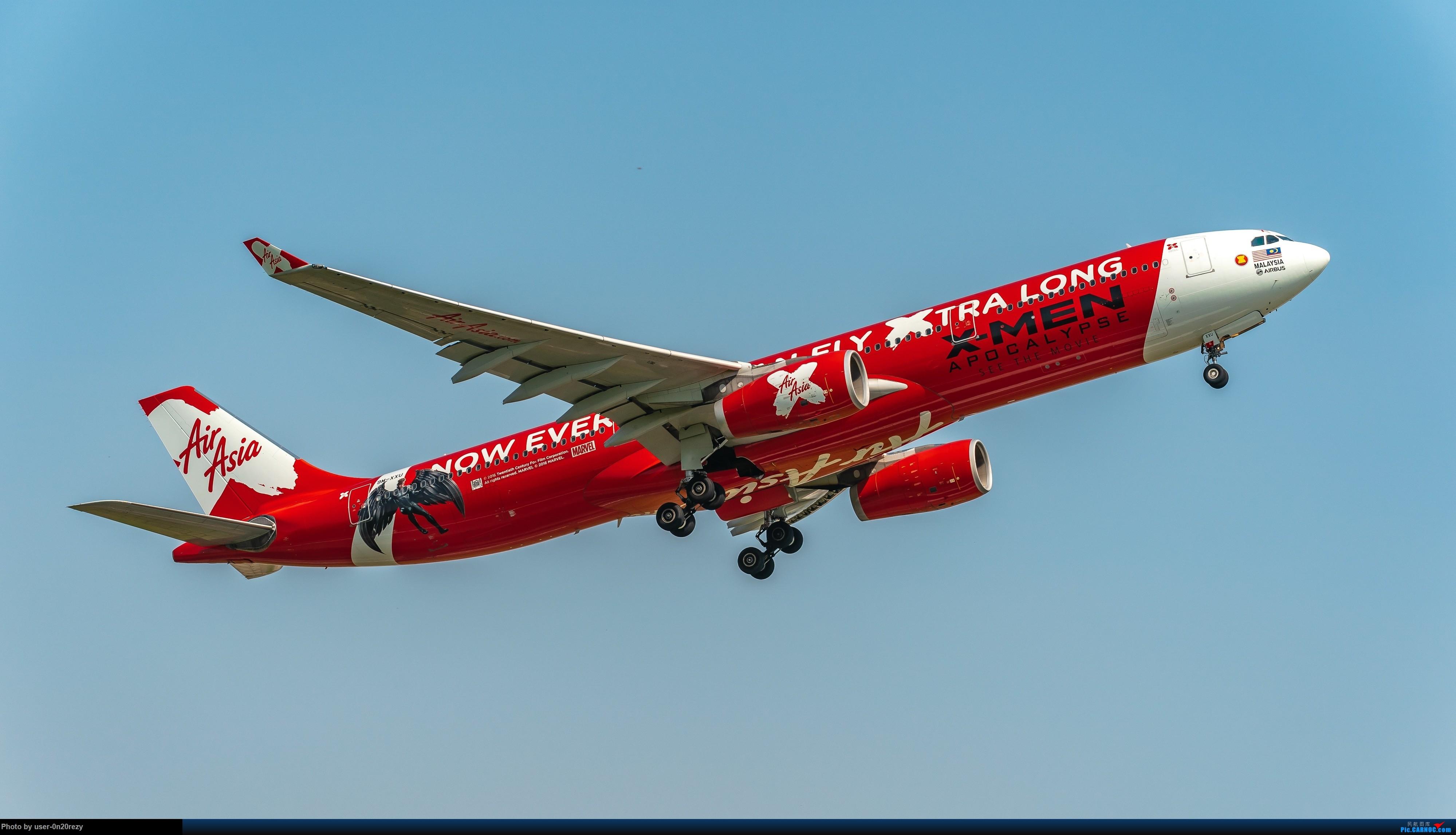Re:[原创]HGH的亚航彩绘机 AIRBUSA330-343 9M-XXU 中国杭州萧山国际机场