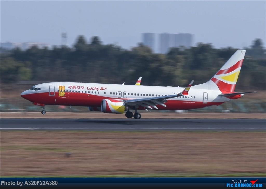 [原创]CTU杂图 BOEING 737MAX-8 B-1143 中国成都双流国际机场